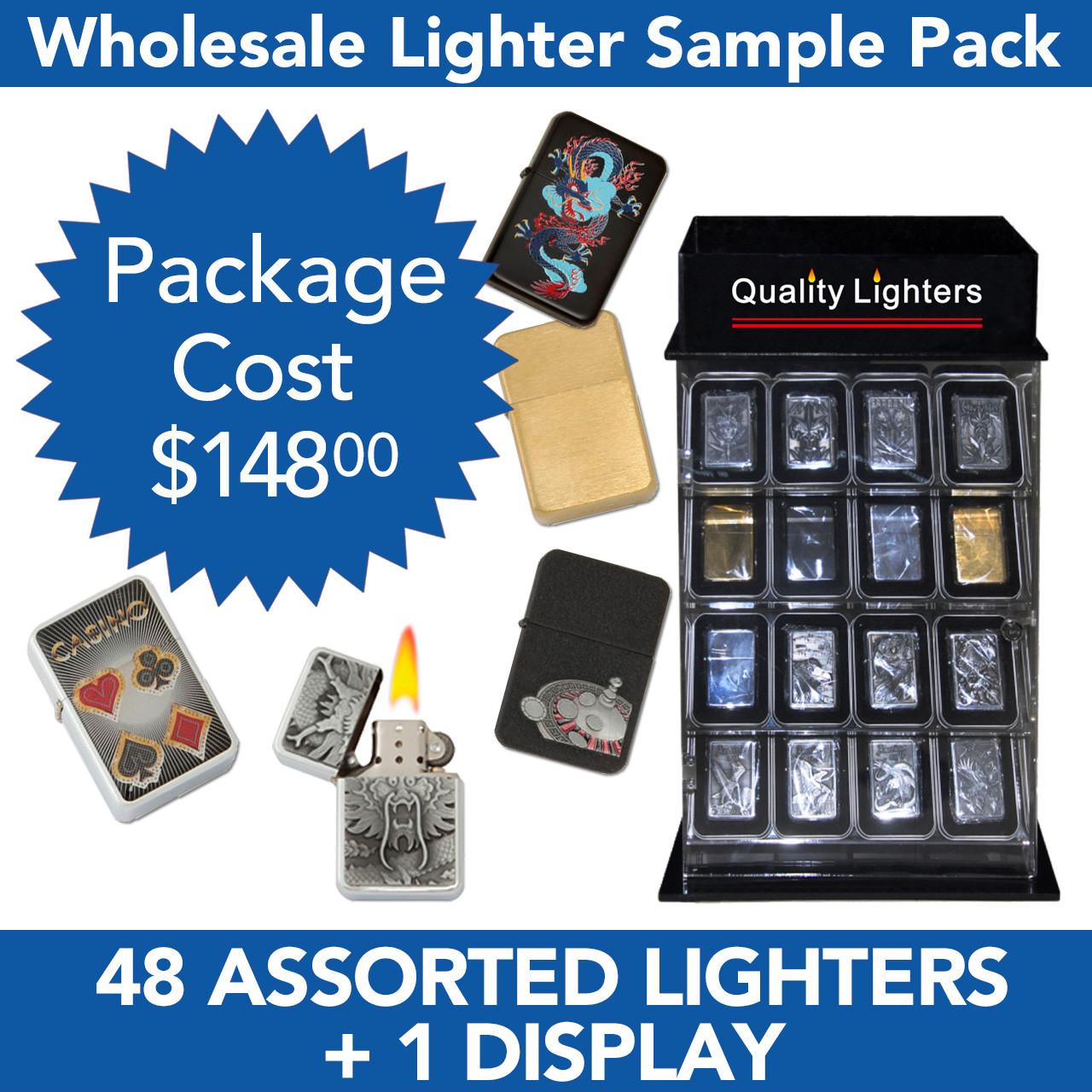 48 Lighters Package Deal SPL3 (48 pcs.+L218)