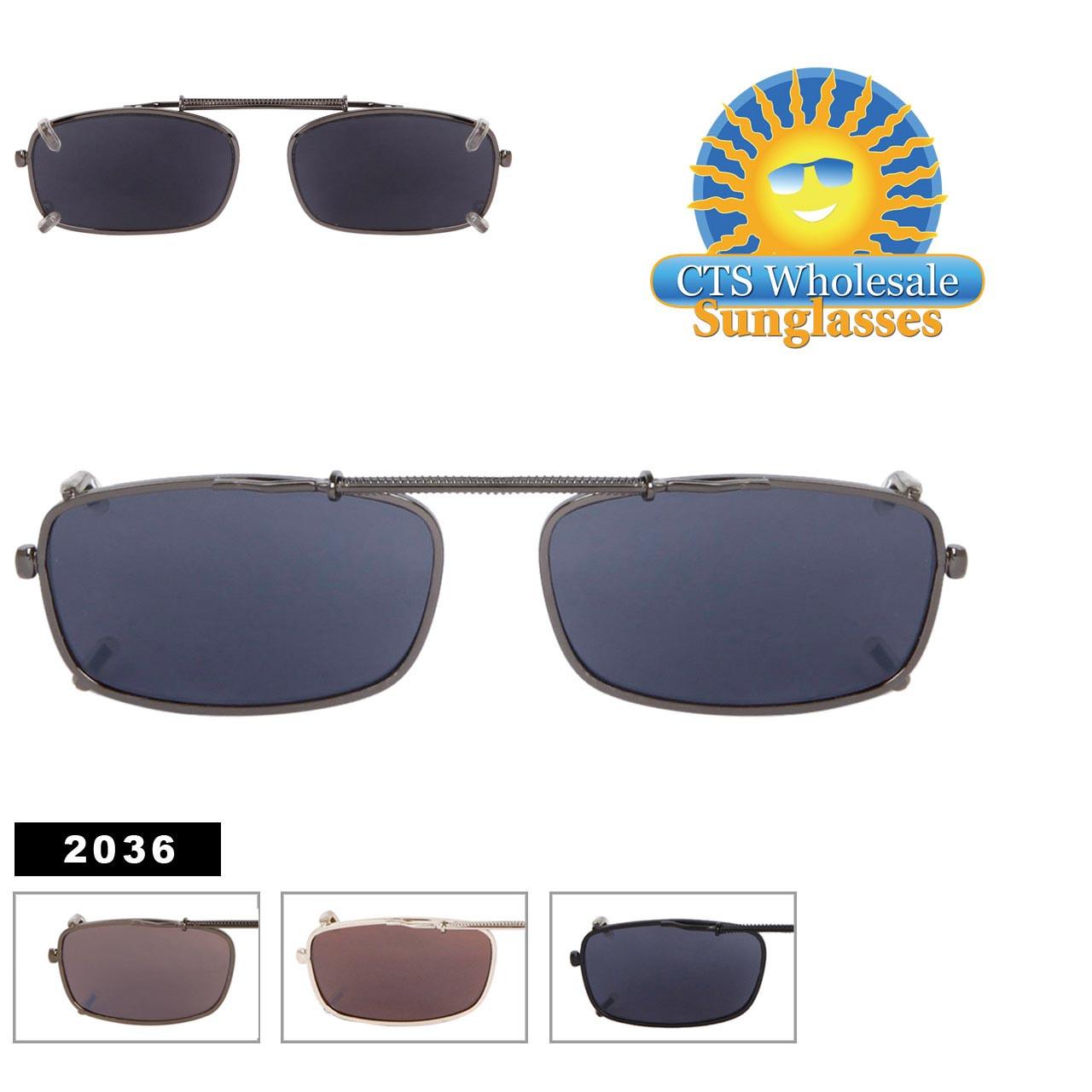 Wholesale Clip On Sunglasses 2036