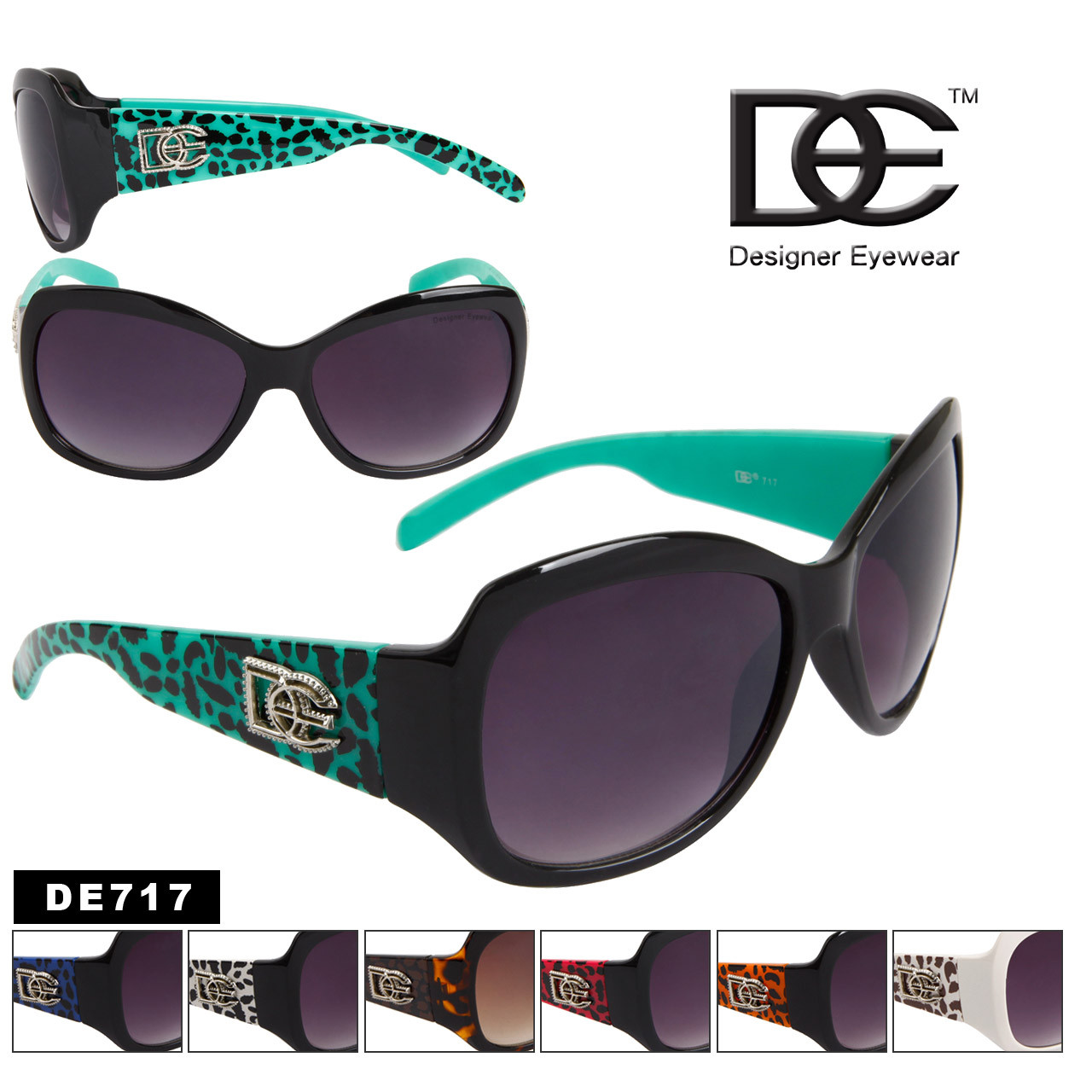Designer Eyewear™ Fashion Sunglasses by the Dozen - Style # DE717