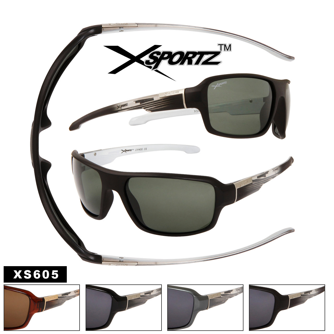 Polarized Xsportz™ Sunglasses XS605