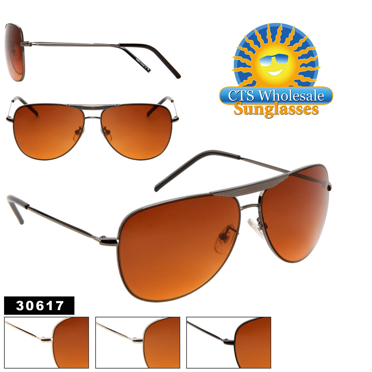 50220f32e17f7 Blue Light Blocking Wholesale Aviator Sunglasses - Style  30617