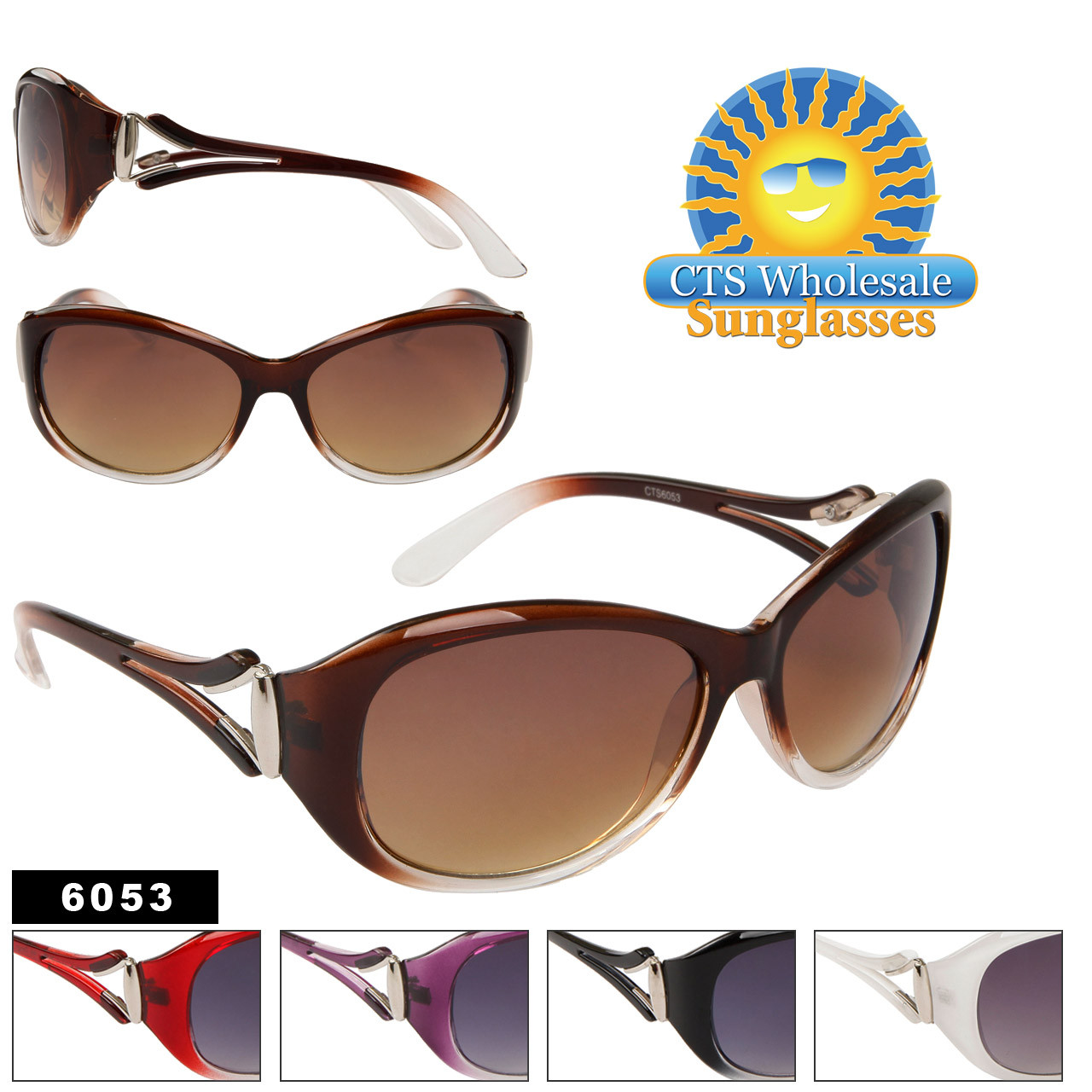 Designer Sunglasses for Women 6053