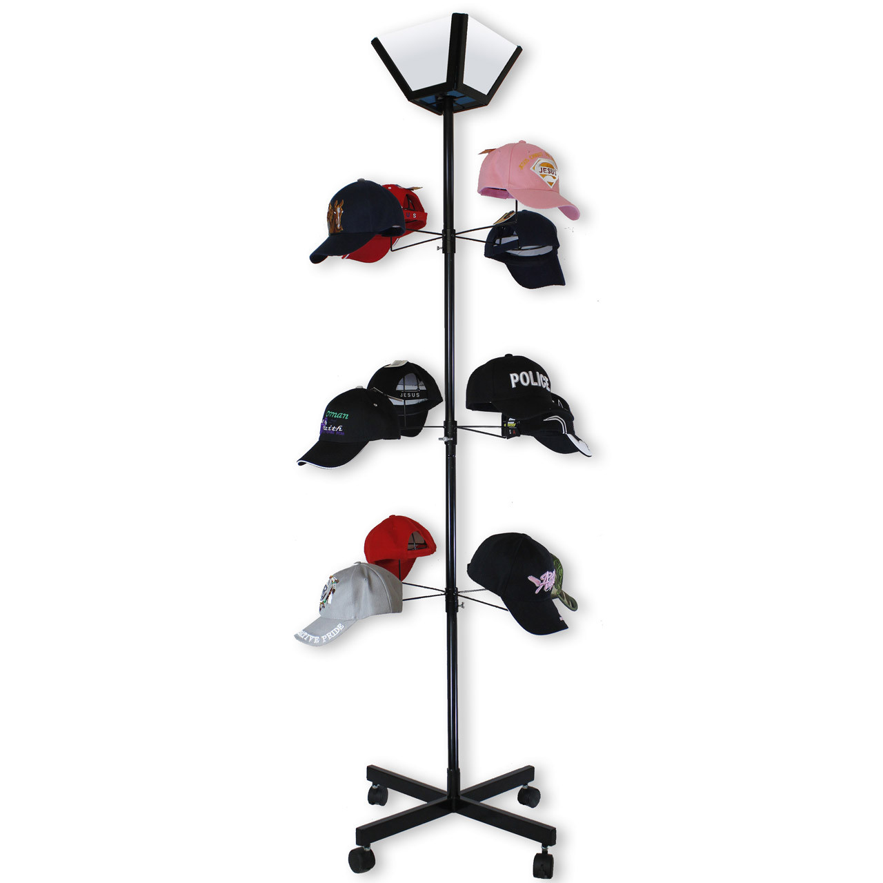 Rotating Hat Display D9000