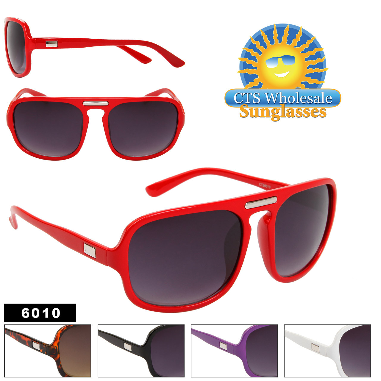Bulk Aviator Sunglasses 6010