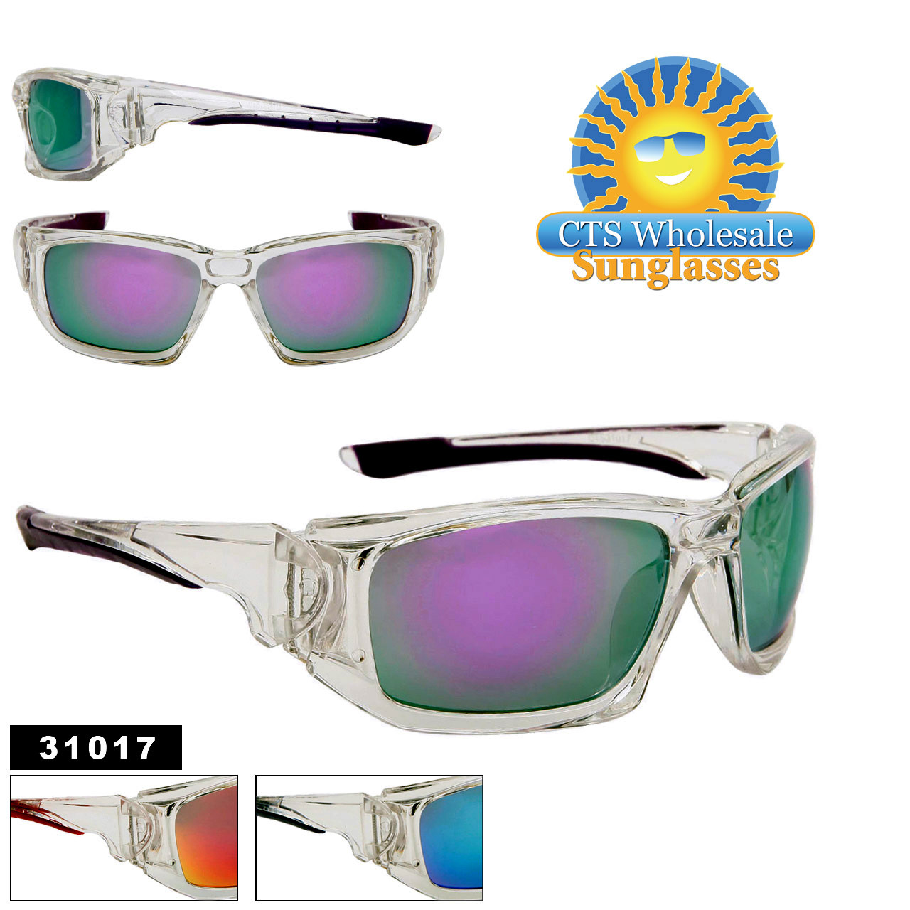 Clear Frame Sunglasses 31017