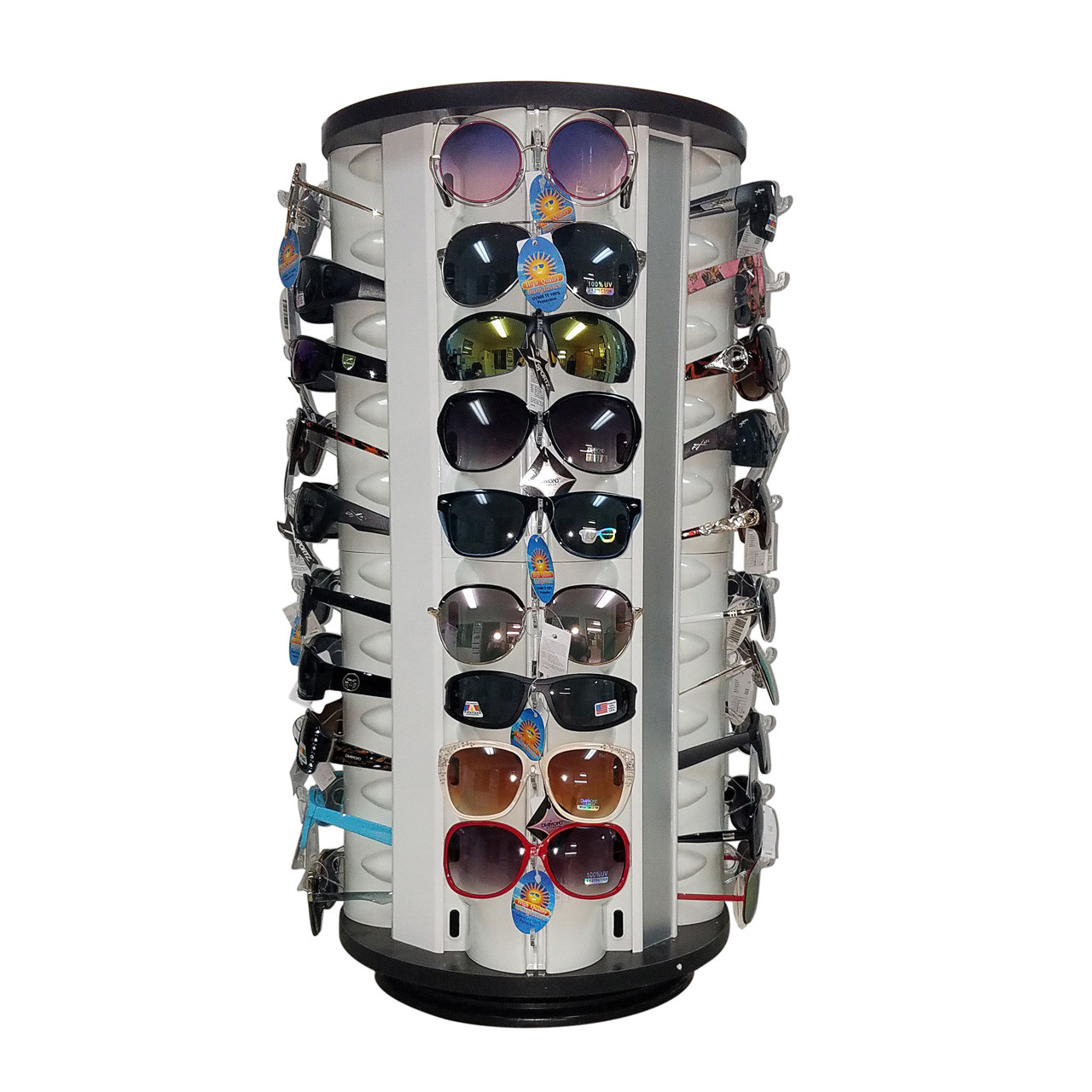 7040 Rotating Sunglass Display | Holds 40 Pair