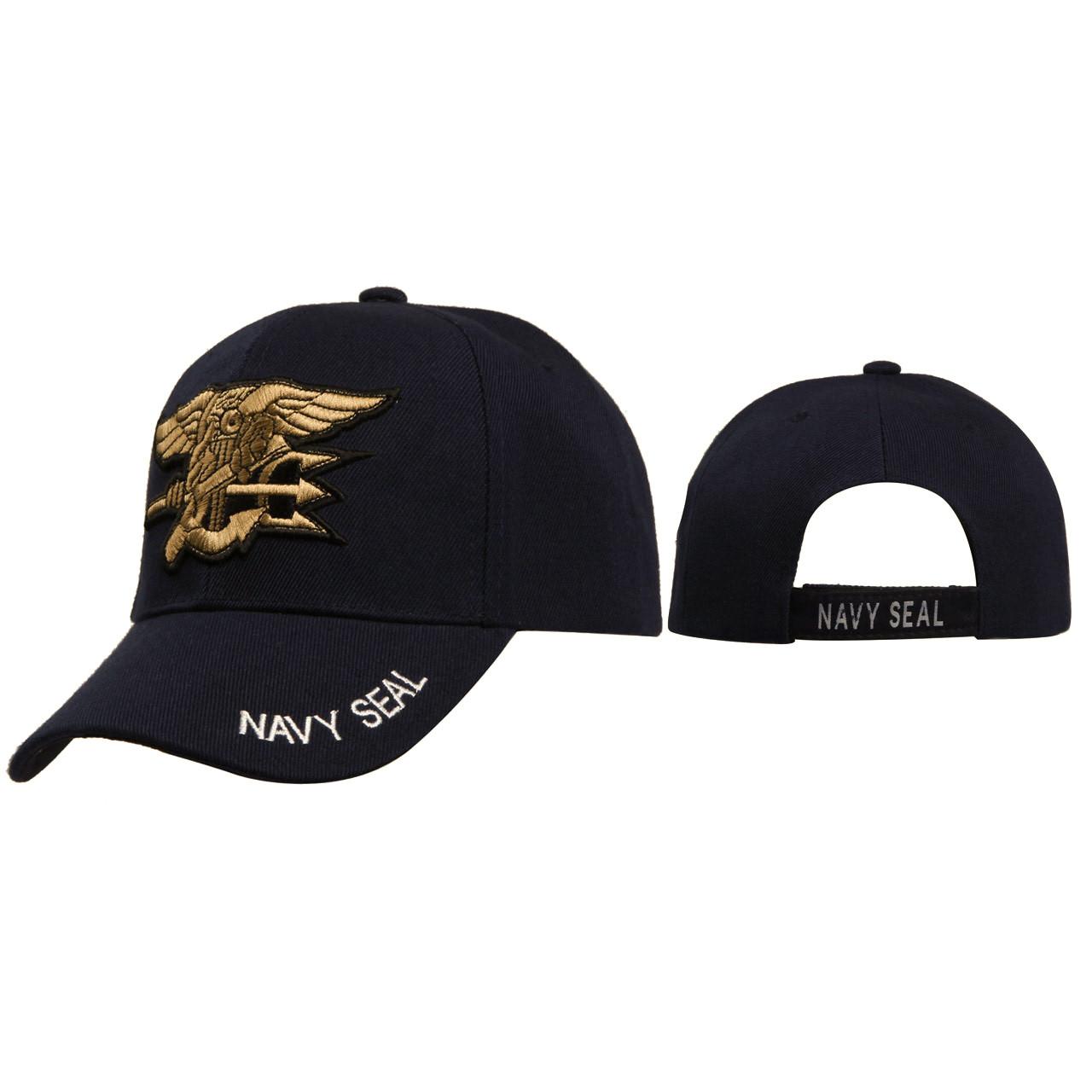 Wholesale Caps C124 ~ Black ~ Navy Seals
