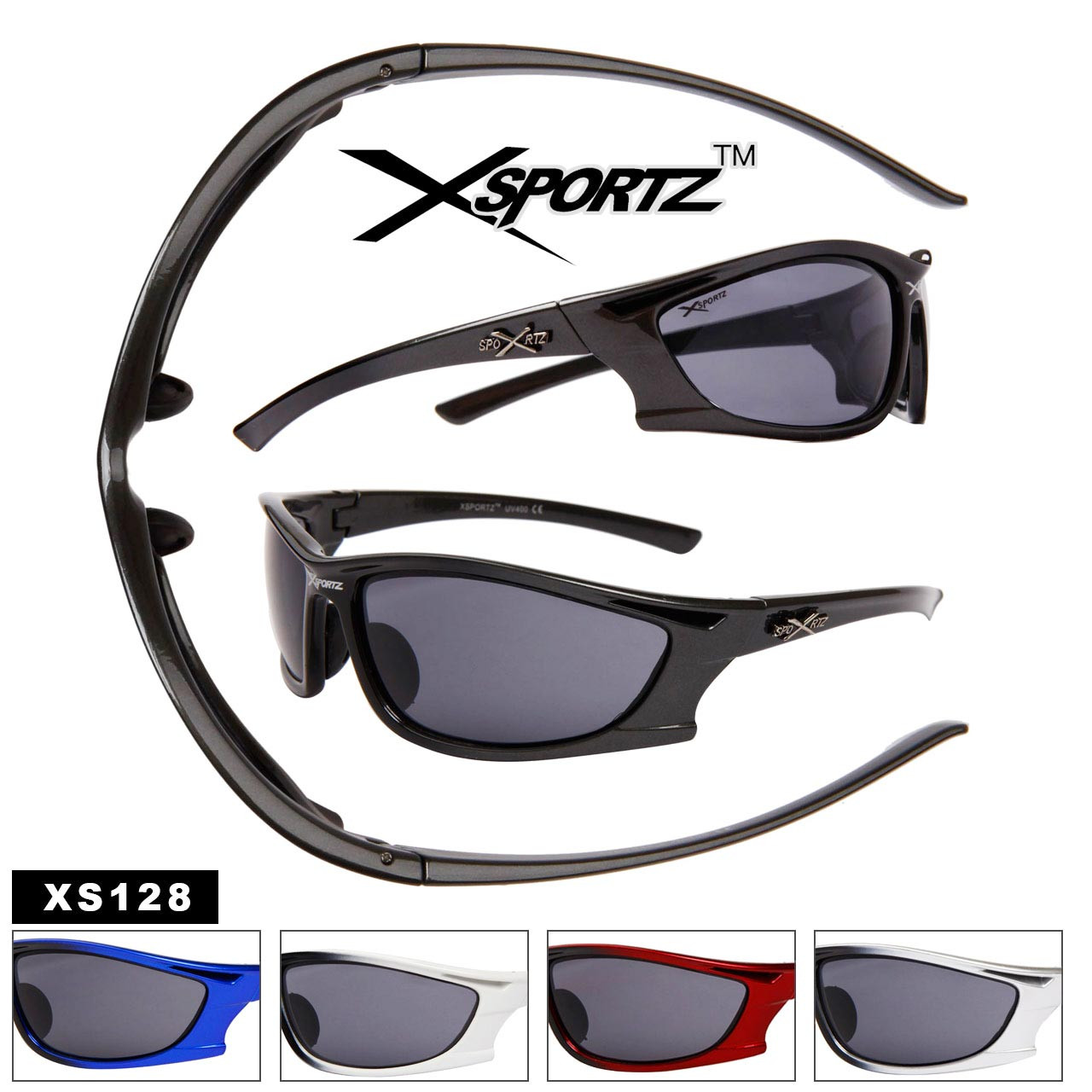 Xsportz™ Wholesale Sunglasses XS128