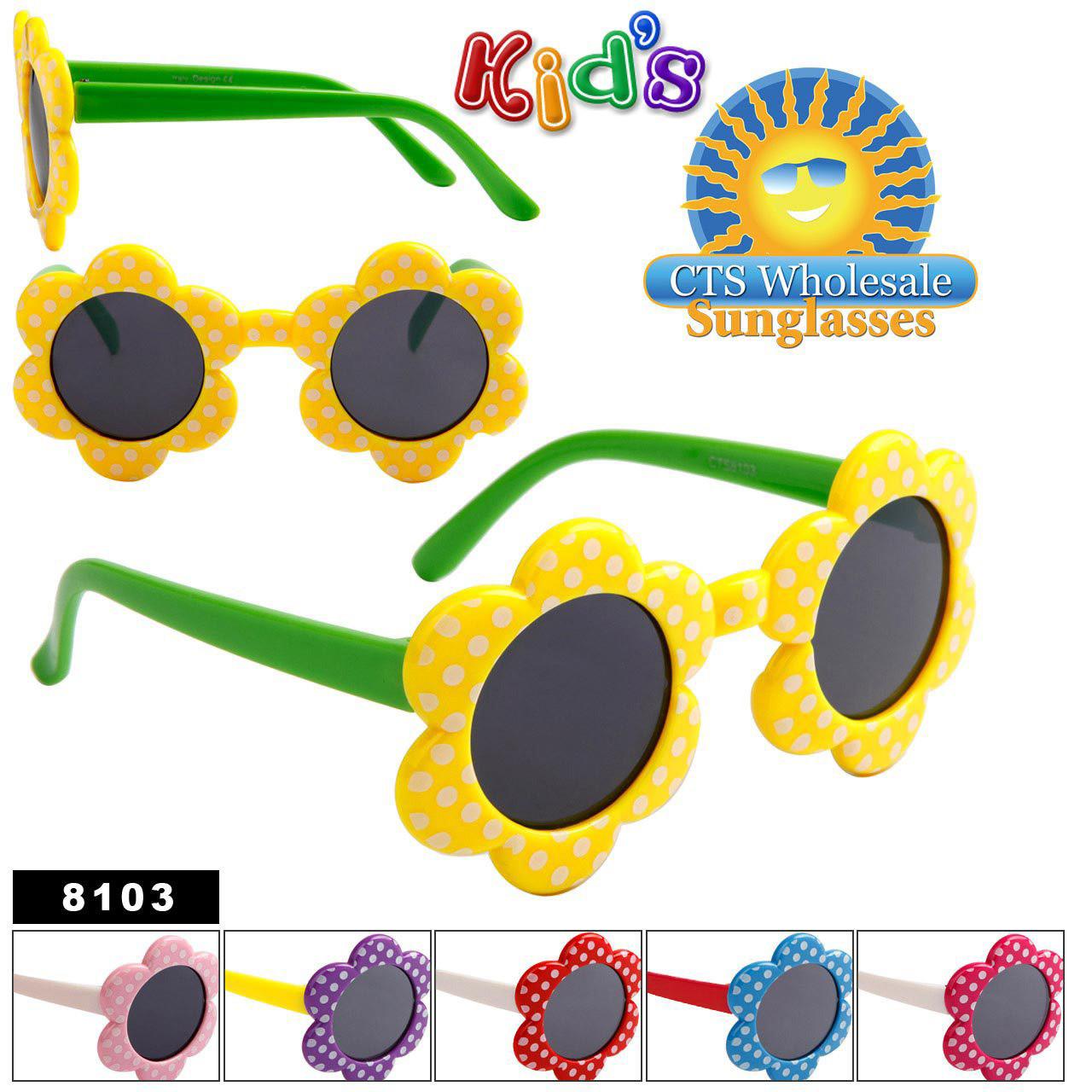 Flower Sunglasses for Girls # 8103