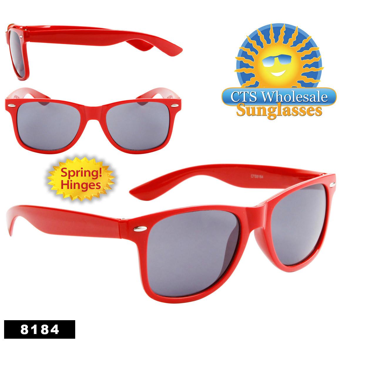 Red California Classics Sunglasses 8184