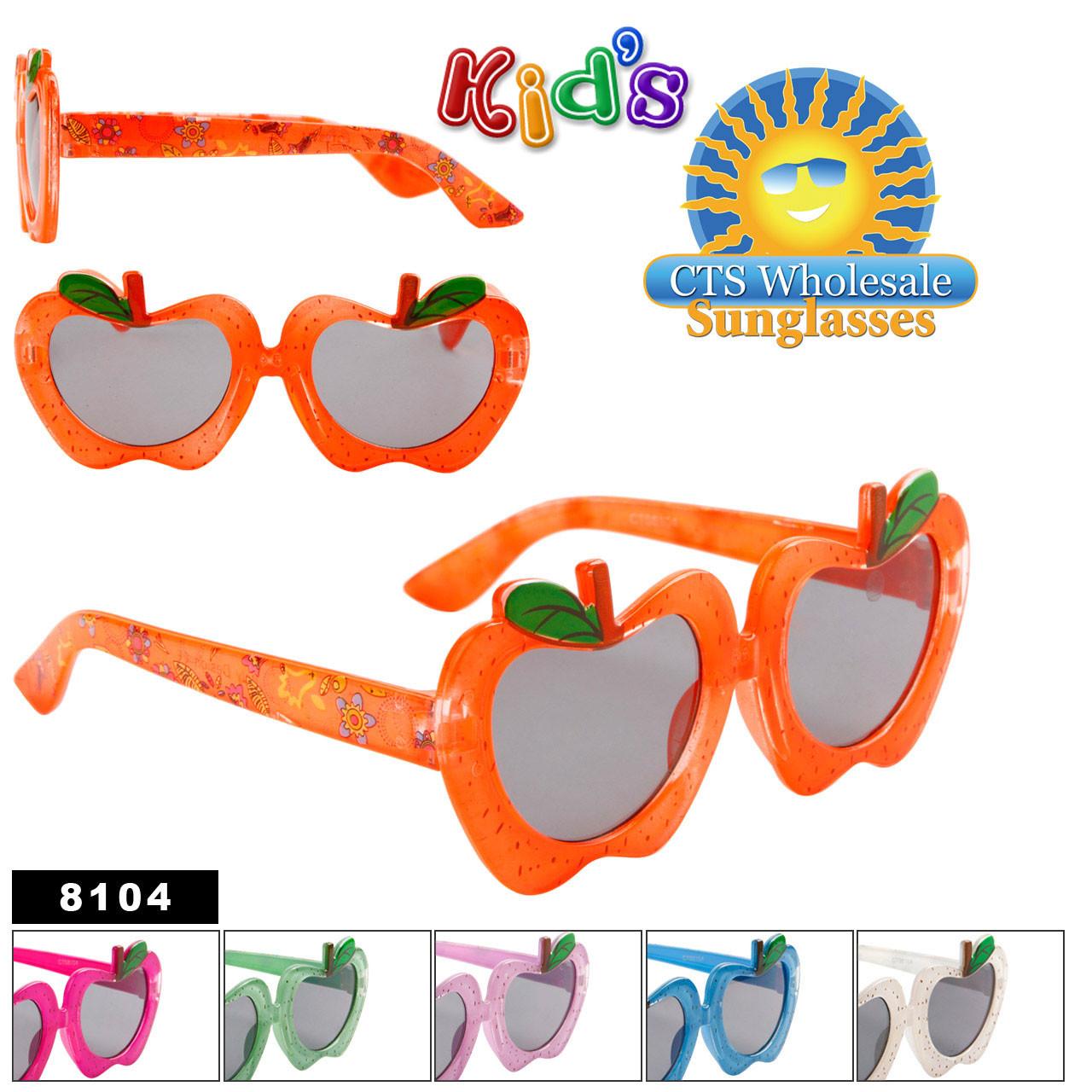 Kid's Apple Sunglasses 8104