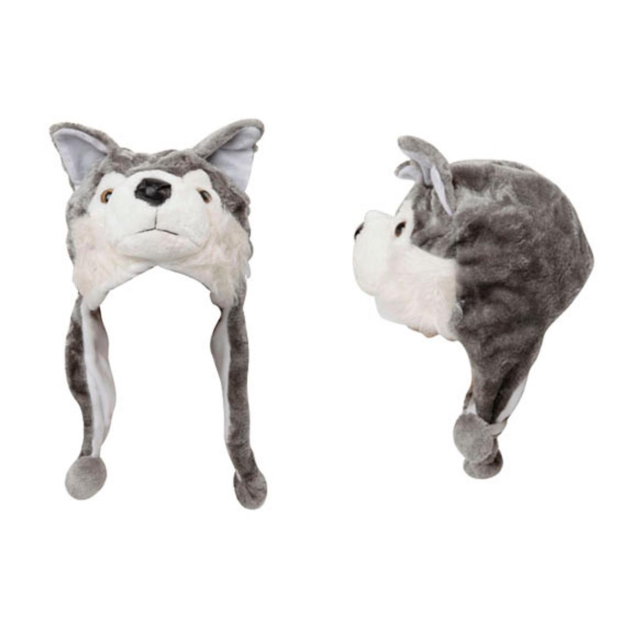 Wholesale Animal Hats   Wolf