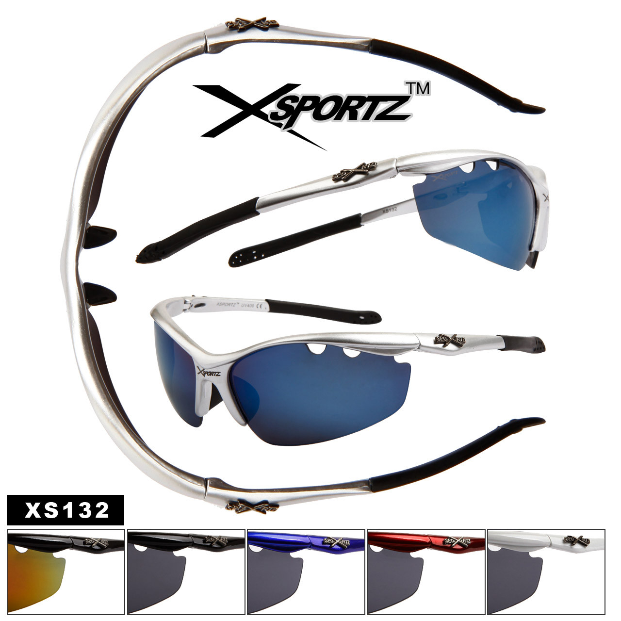Wholesale Men's Sports Sunglasses XS132