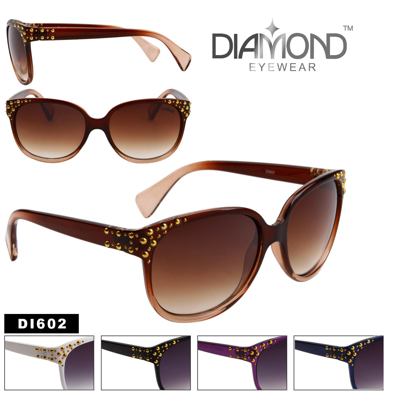 Wholesale Fashion Sunglasses Diamond™ Eyewear - Style # DI602