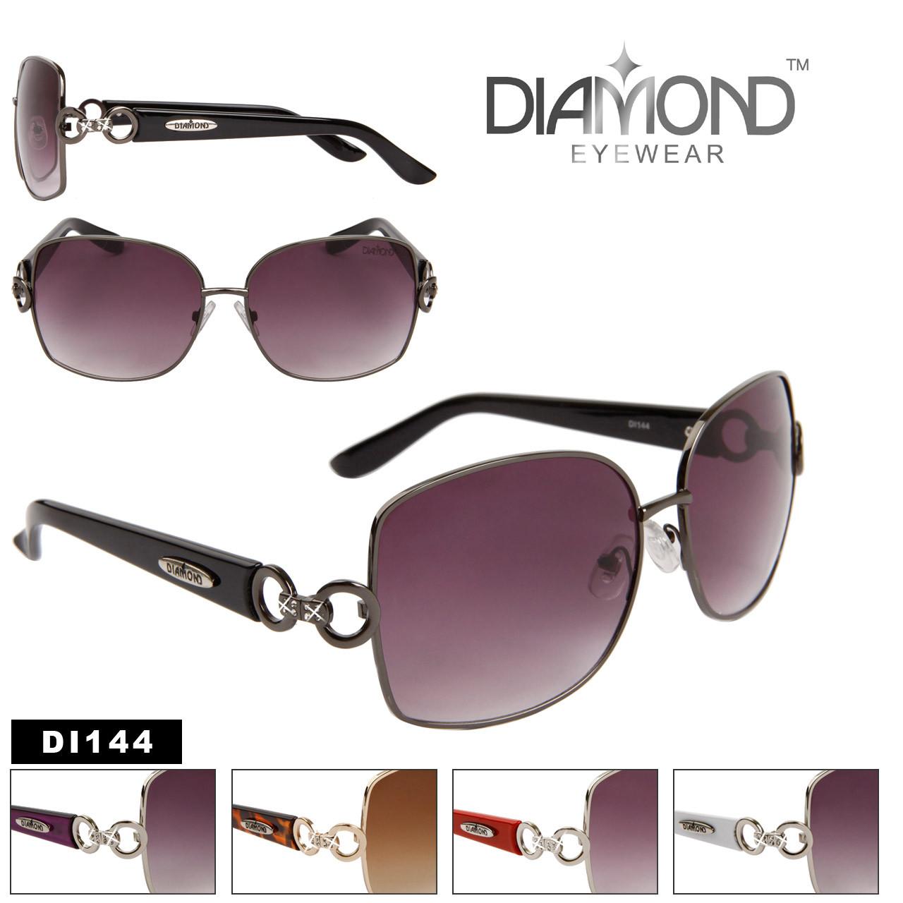 a711a76de3579 Diamond™ Rhinestone Sunglasses by the Dozen - Style   DI144 (12 pcs.)