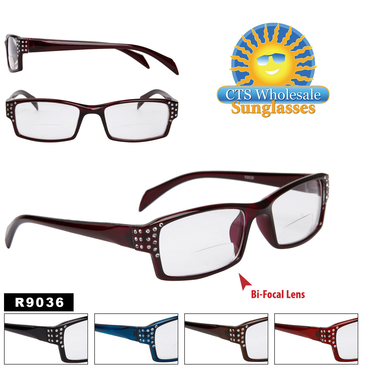 Bi-Focal Reading Glasses R9036