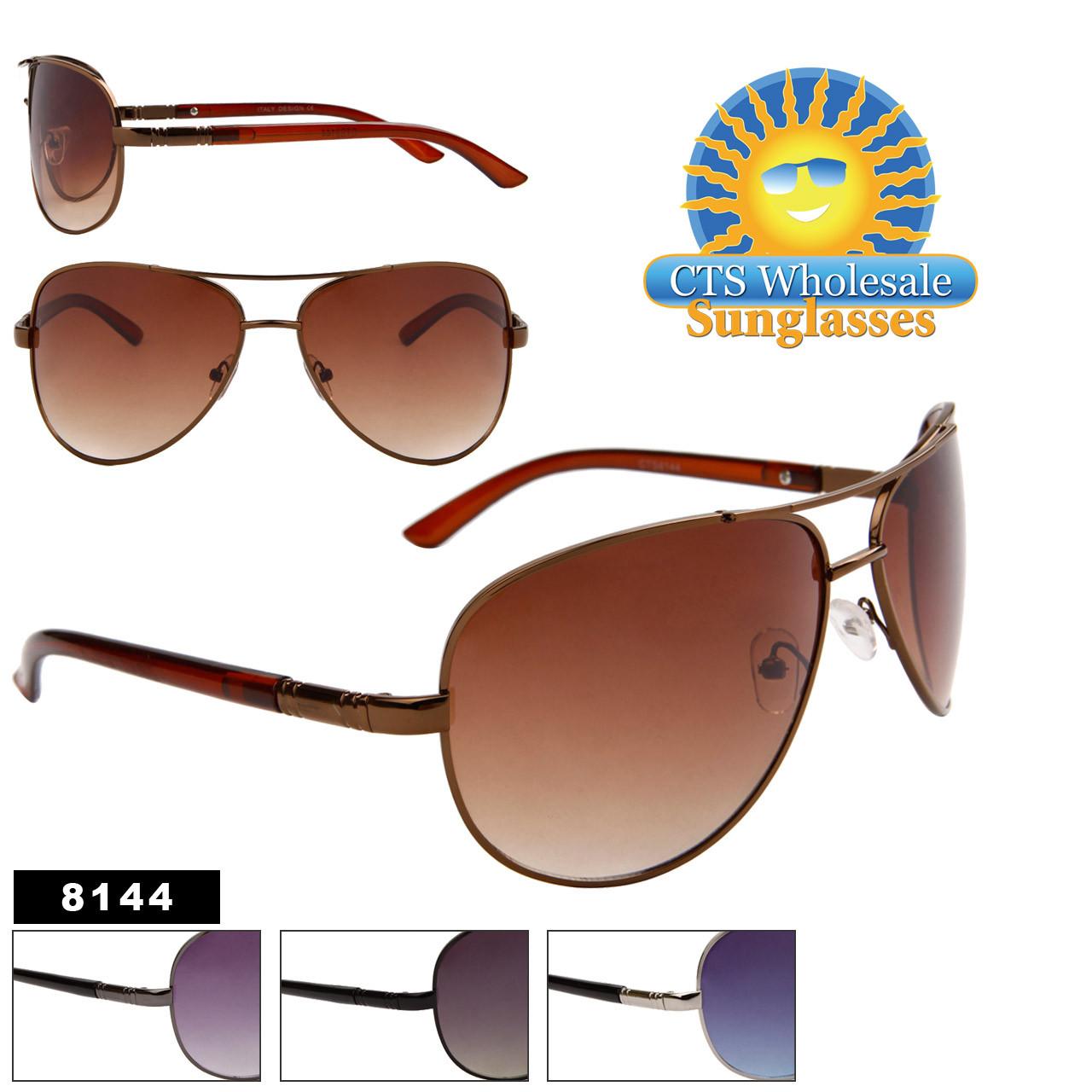 Wholesale Aviator Sunglasses 8144