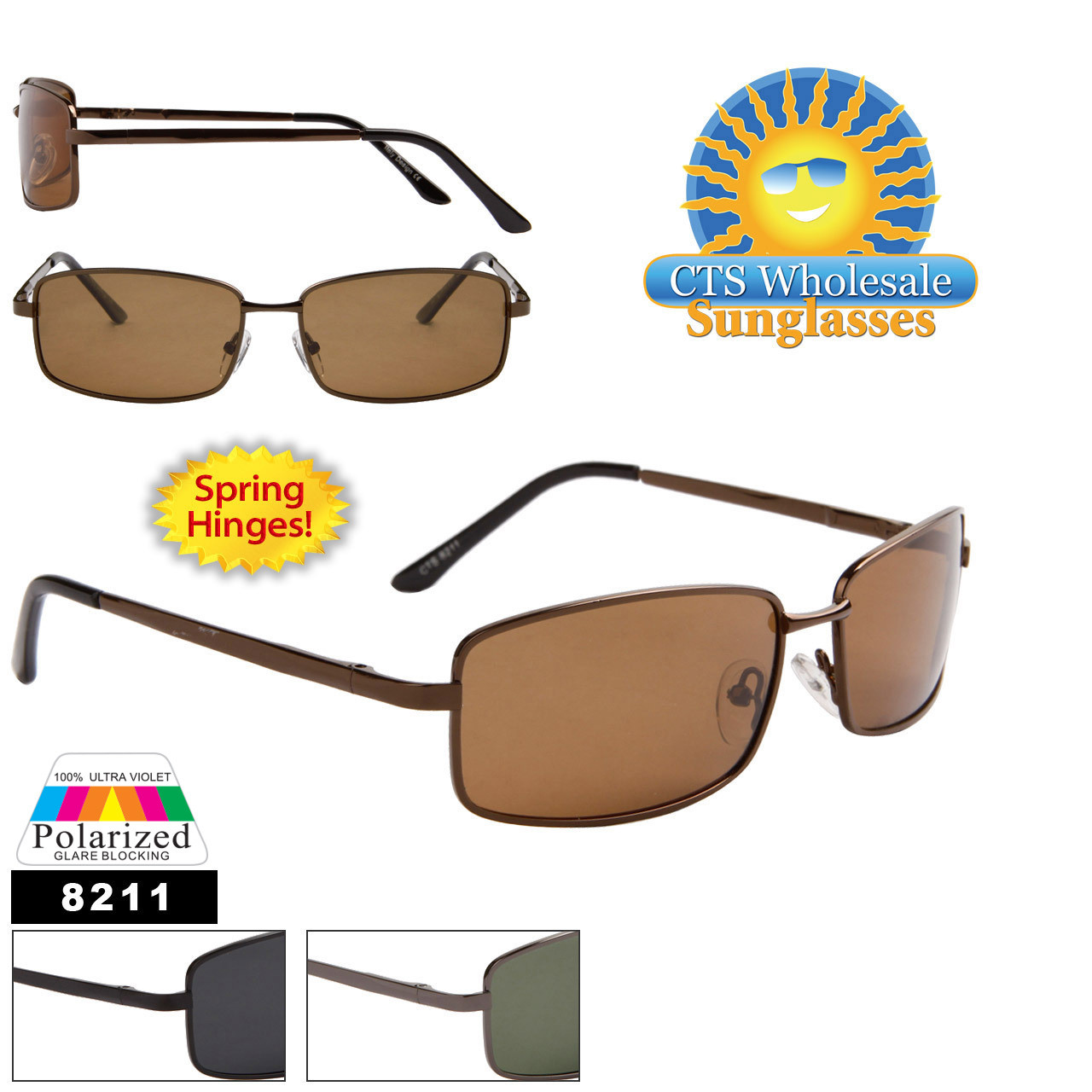 Polarized Metal Sunglasses 8211