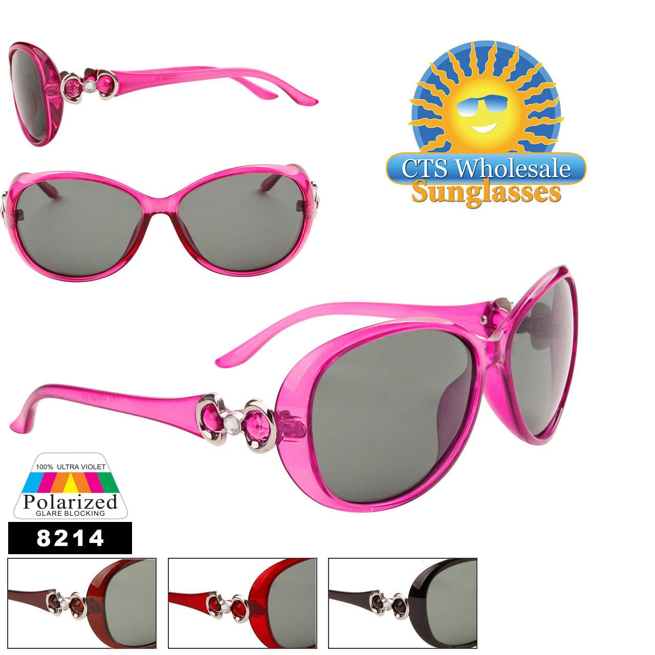 Women's Polarized Sunglasses in Bulk - 8214