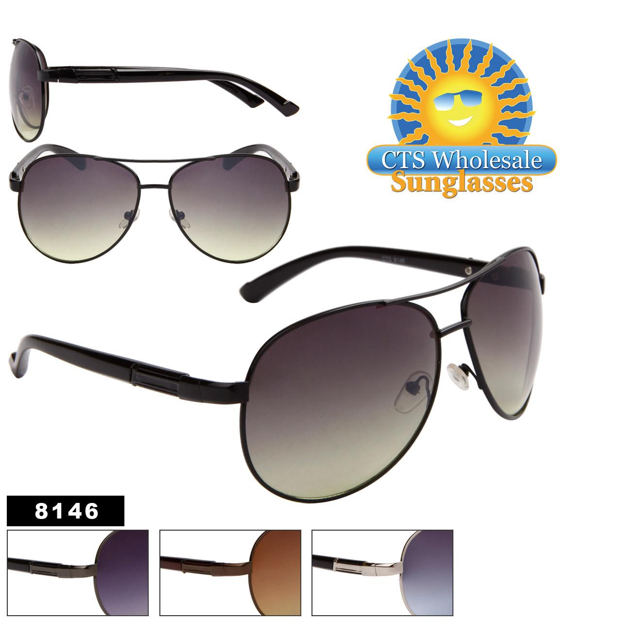 Wholesale Aviator Sunglasses - 8146