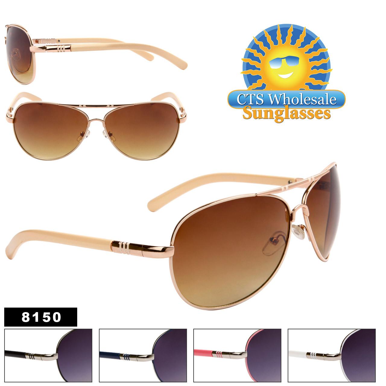 Aviator Sunglasses by the Dozen - 8150
