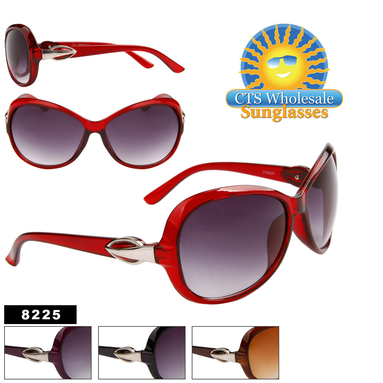 Women's Wholesale Designer Sunglasses - 8225