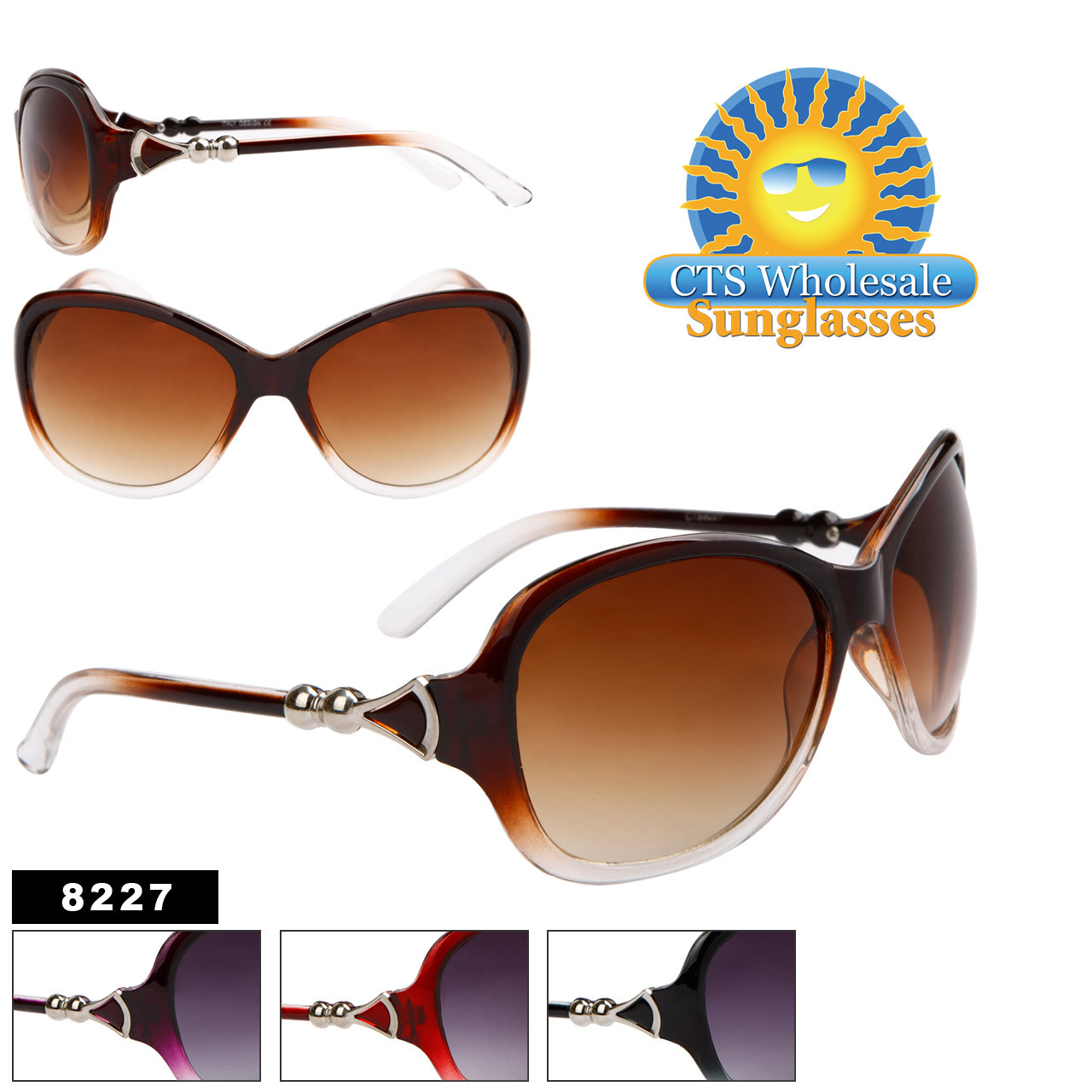 Women's Wholesale Sunglasses - 8227