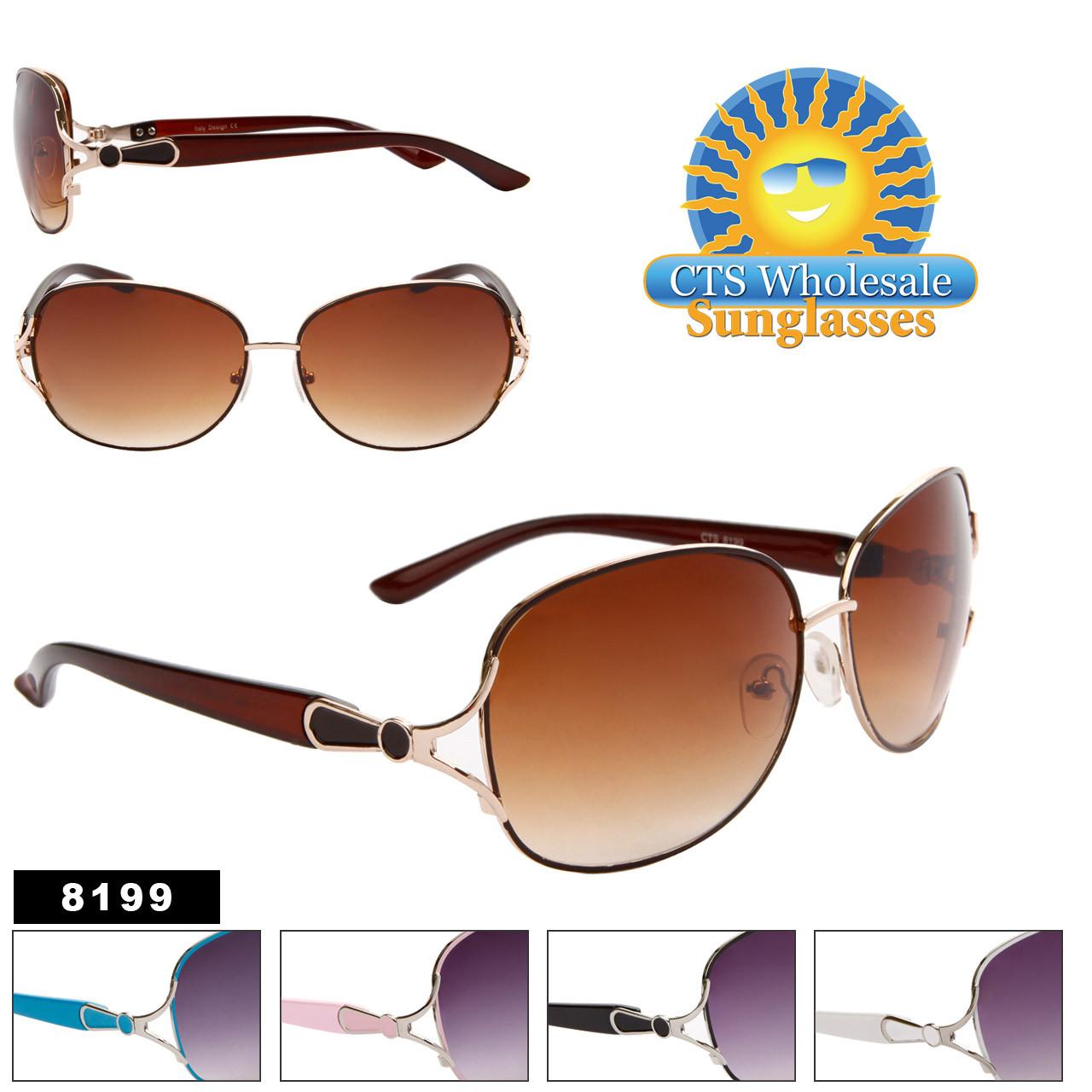 Wholesale Women's Designer Sunglasses - 8199