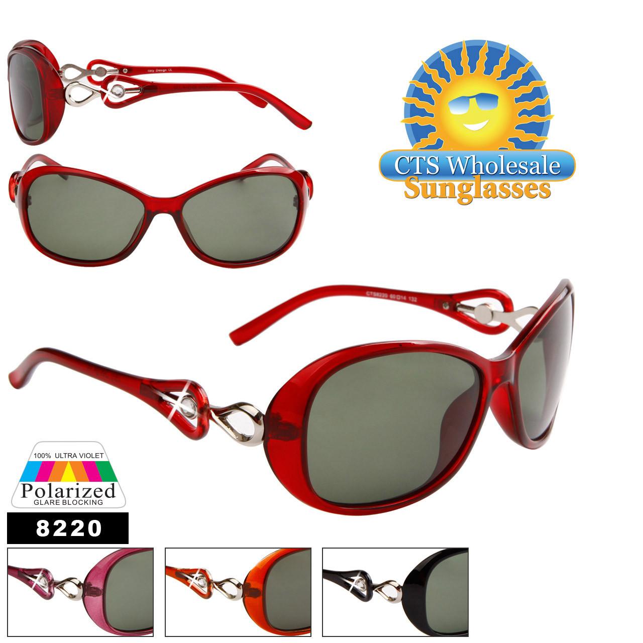 Bulk Women's Polarized Sunglasses-8220
