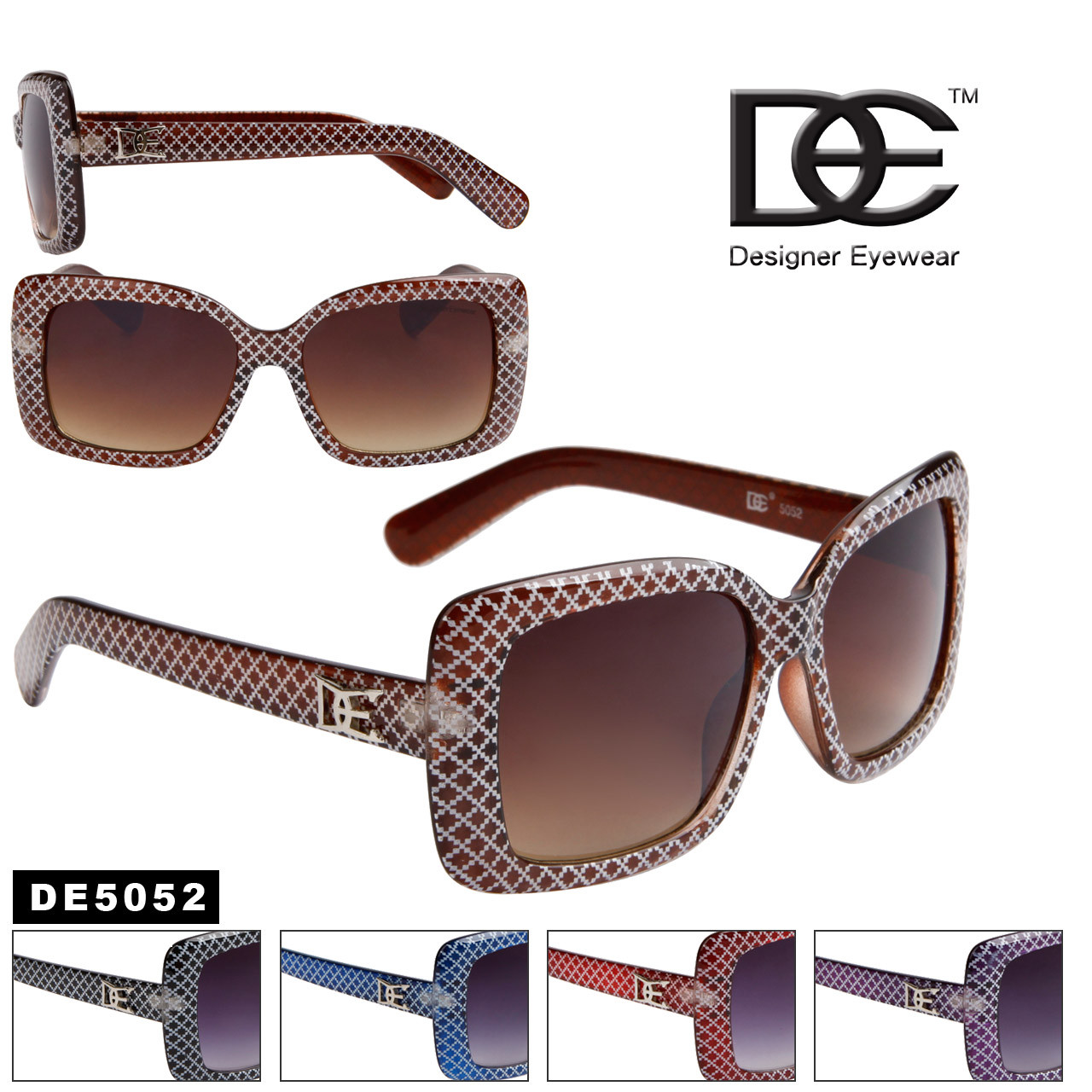 Wholesale DE™ Designer Sunglasses - DE5052