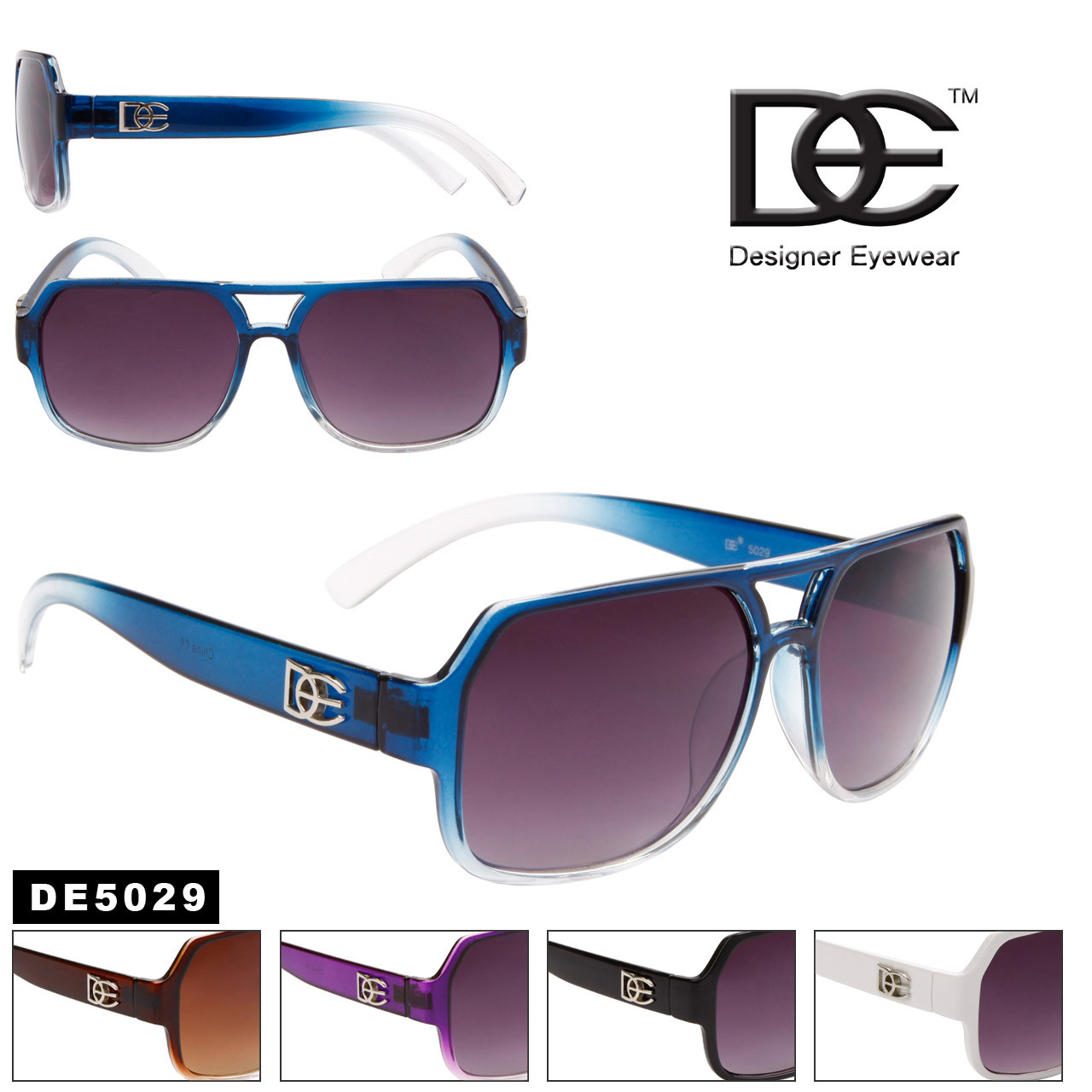 Wholesale DE™ Aviator Sunglasses - DE5029