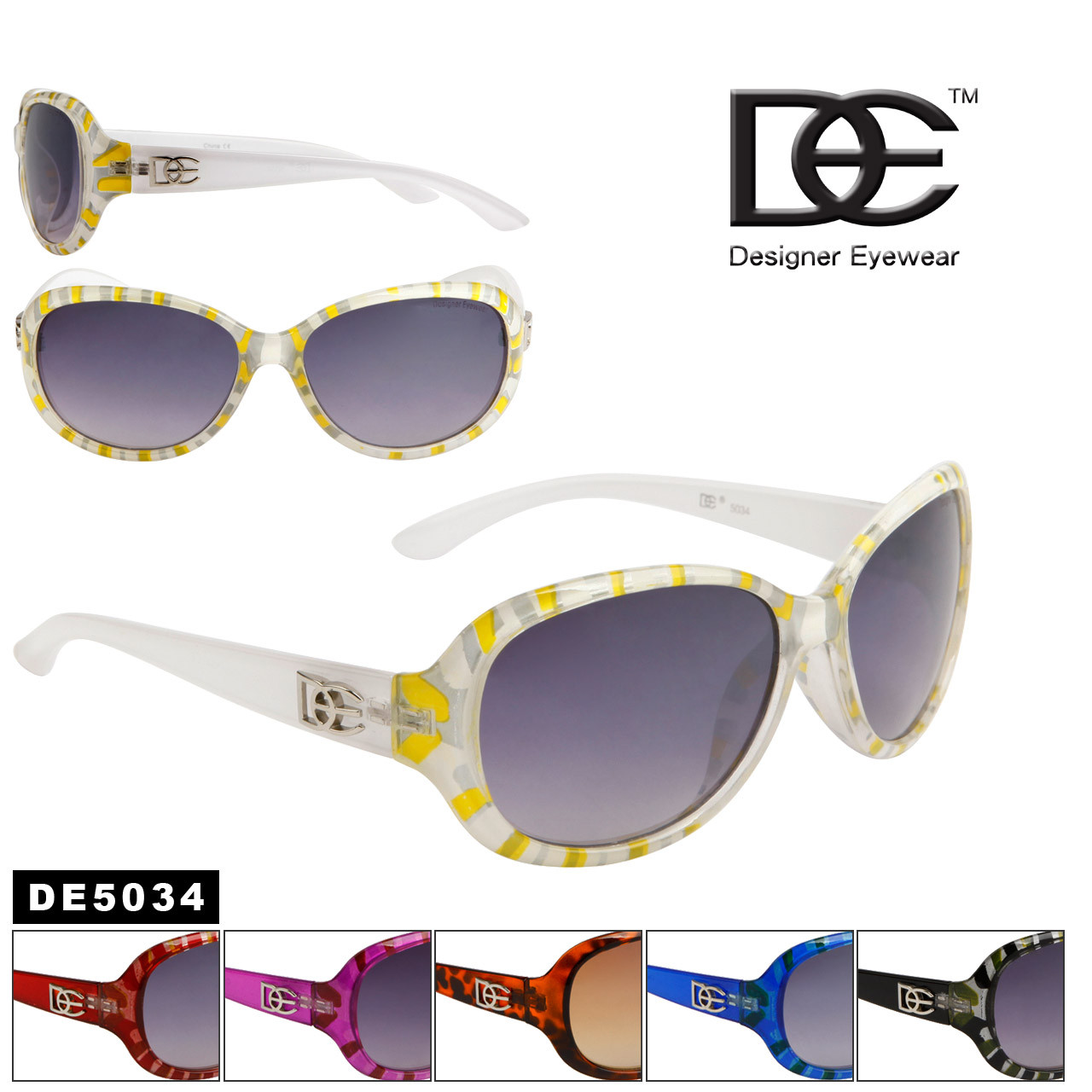 759ed967c Wholesale DE™ Designer Sunglasses - Style #DE5034