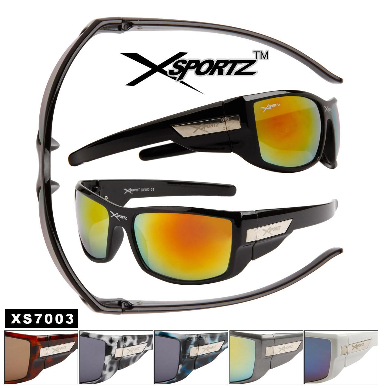 Xsportz™ Wholesale Sport Sunglasses - Style # XS7003