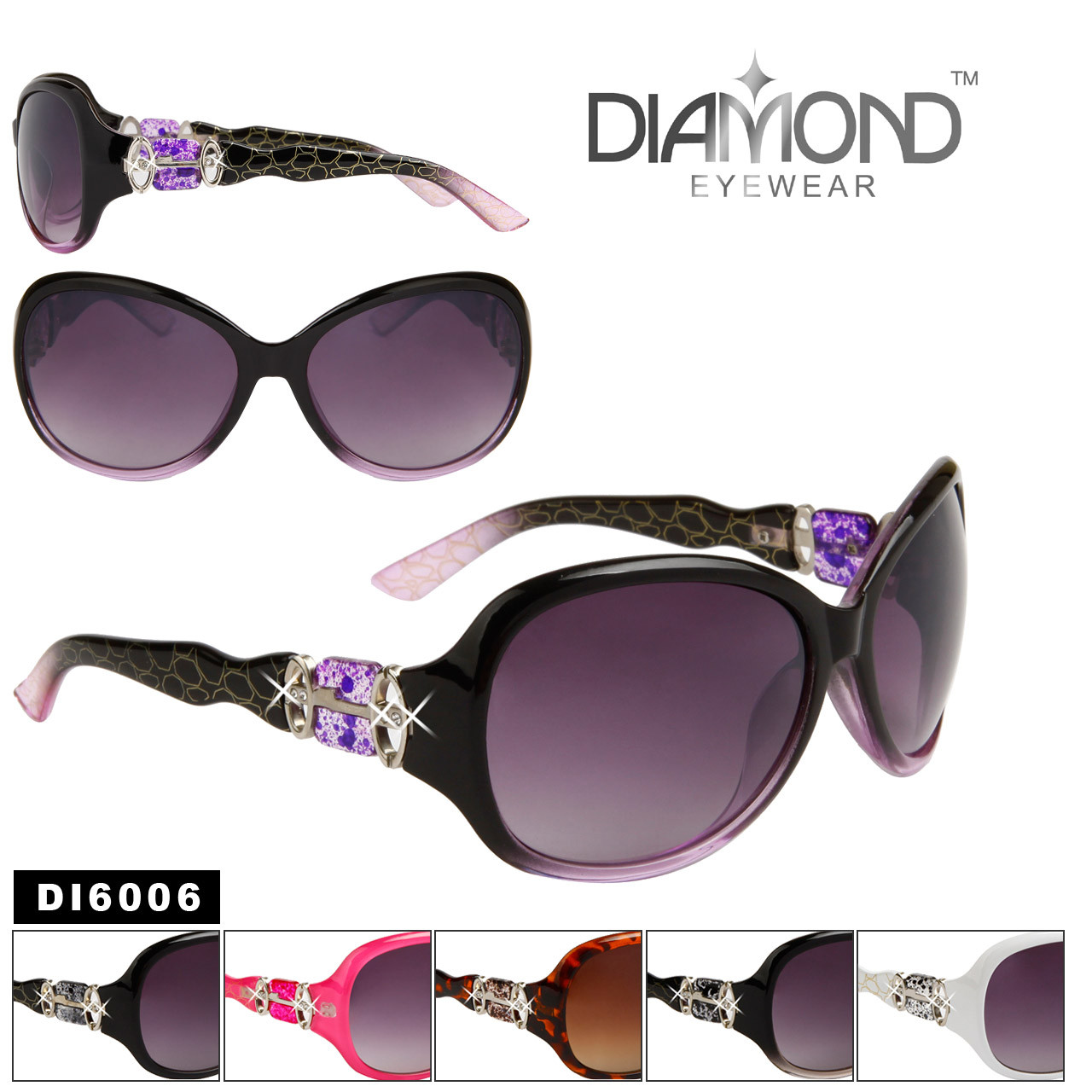 Wholesale Diamond™ Eyewear Sunglasses DI6006