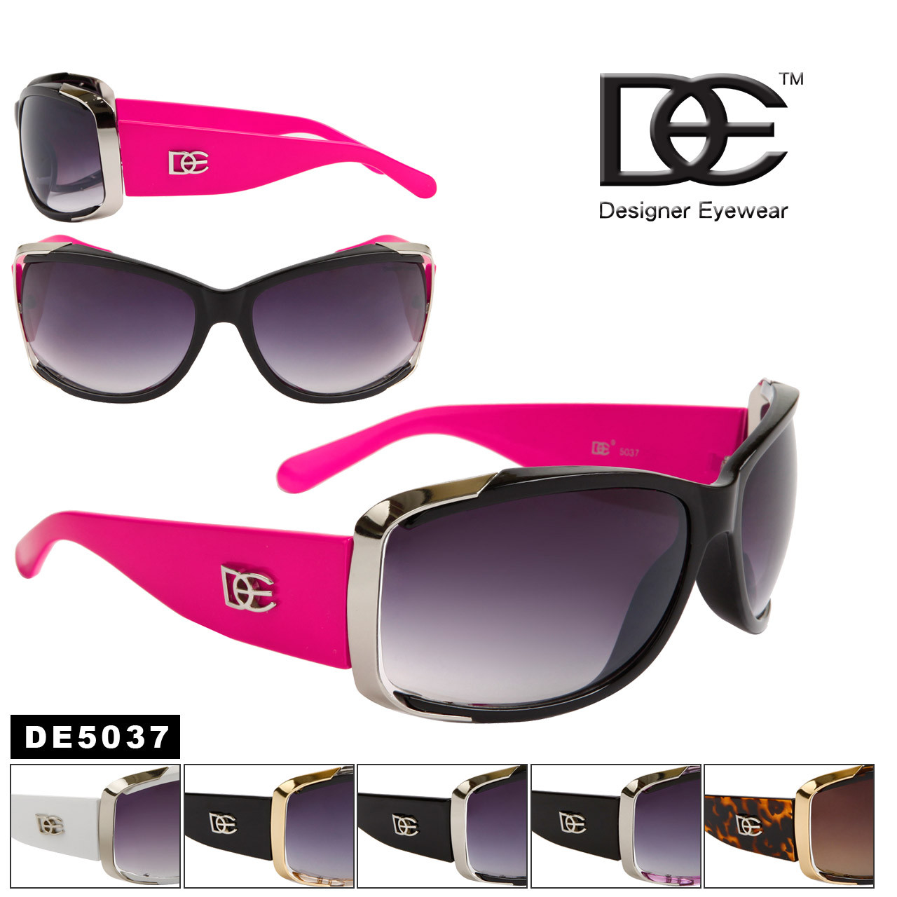 Wholesale Women's Designer Sunglasses - DE5037