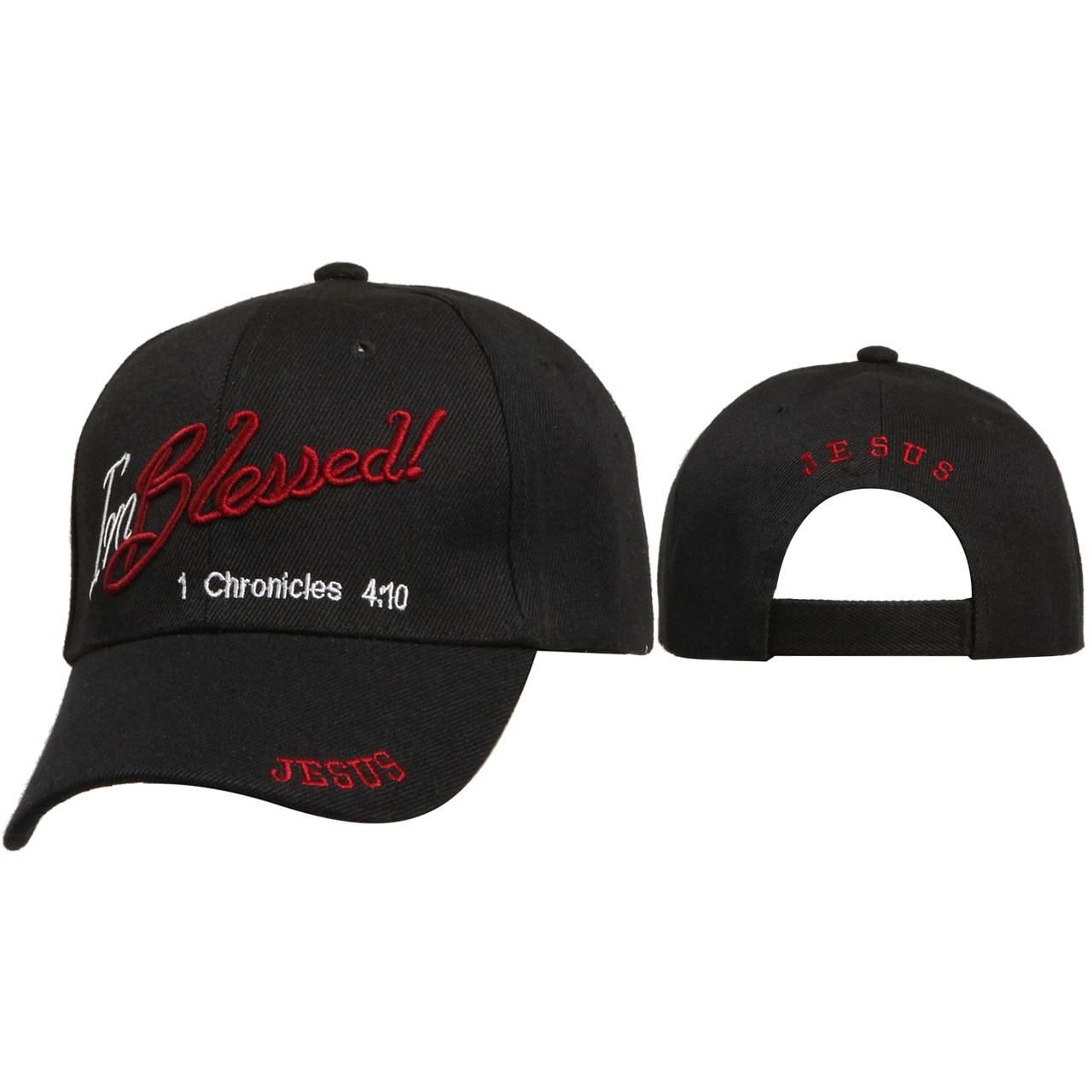 Caps Wholesale ~ I'm Blessed! ~ Black