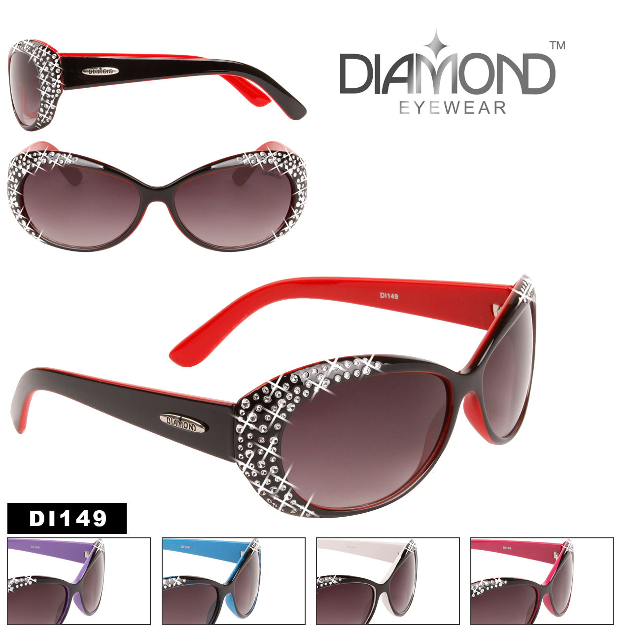 Designer Sunglasses by the Dozen - Style #DI149
