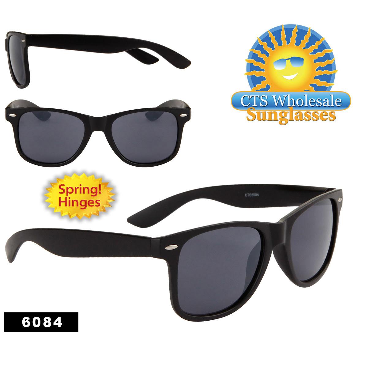 Matte Black Wholesale California Classics - Style #6084 Spring Hinge