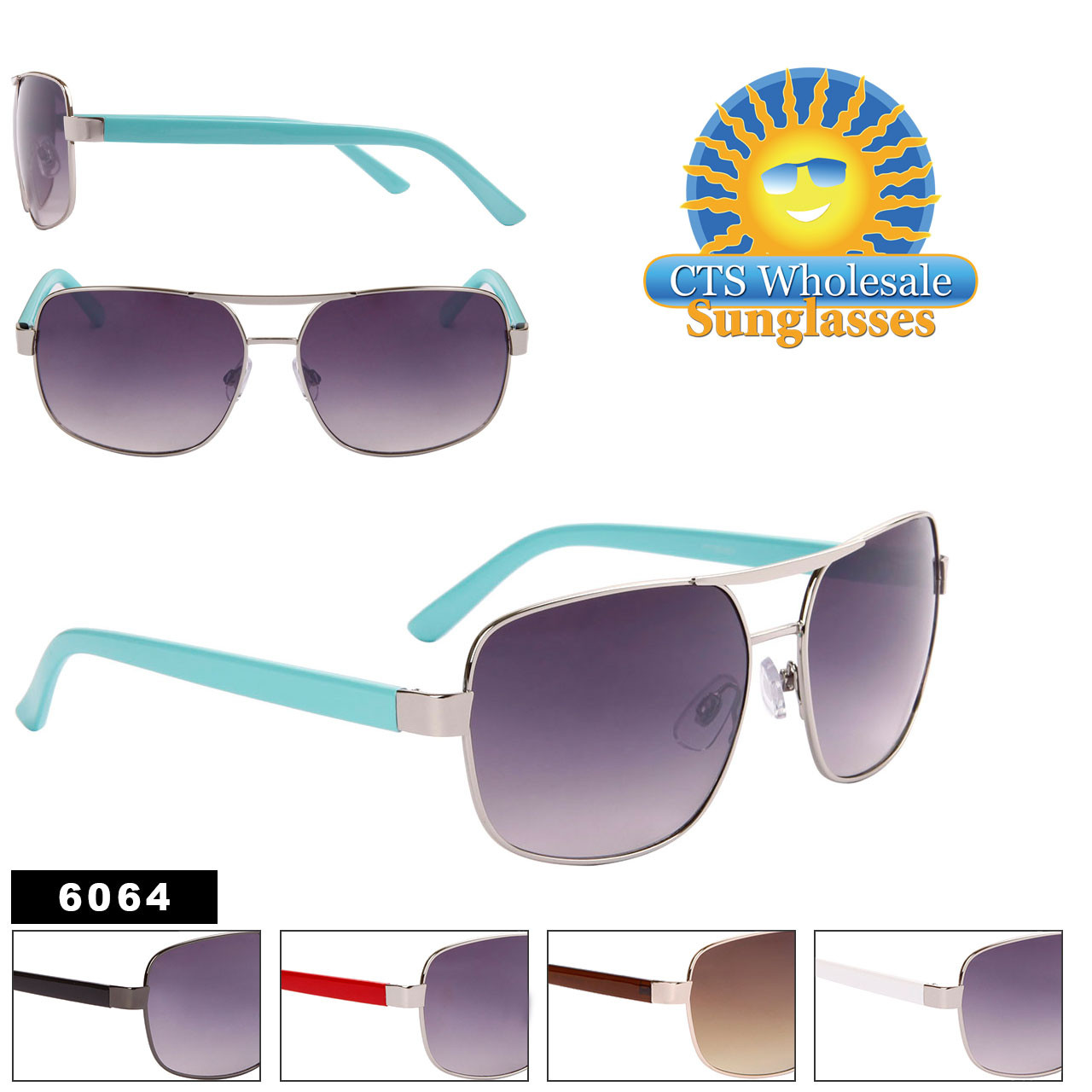 Bulk Aviator Sunglasses - Style #6064