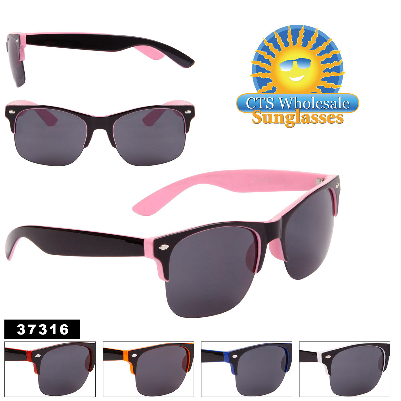 Unisex Sunglasses by the Dozen - Style #37316
