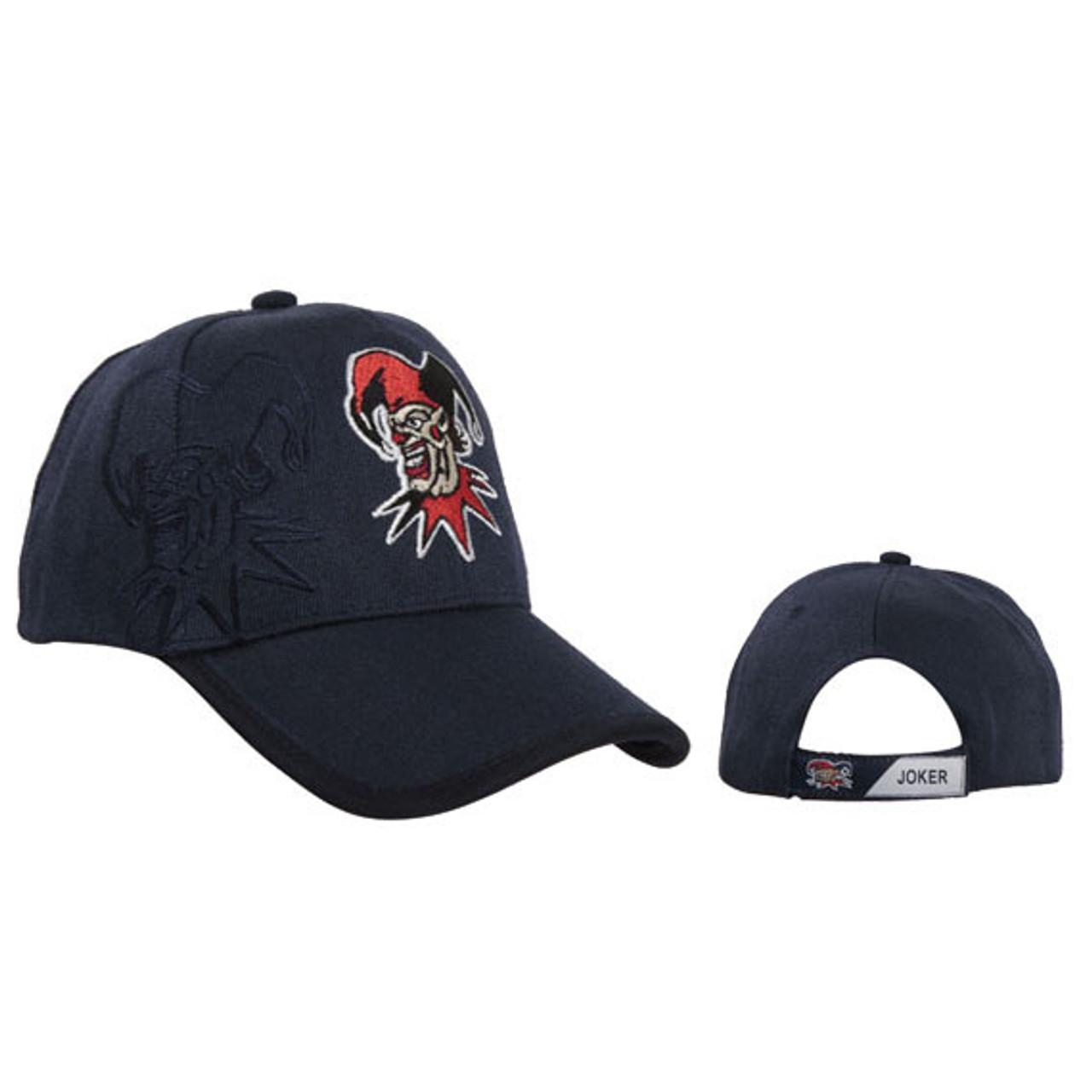 Navy Blue Joker Baseball Hat Wholesale