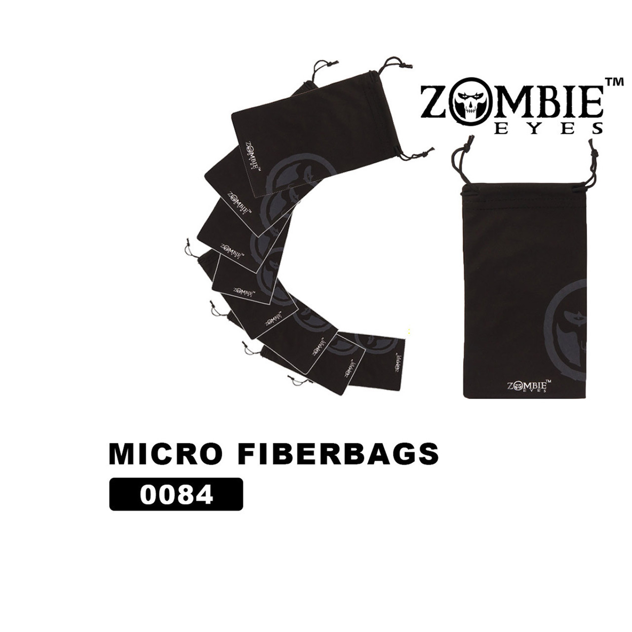 Zombie Eyes™ Wholesale Microfiber Bags - #0084 (12 pcs.)