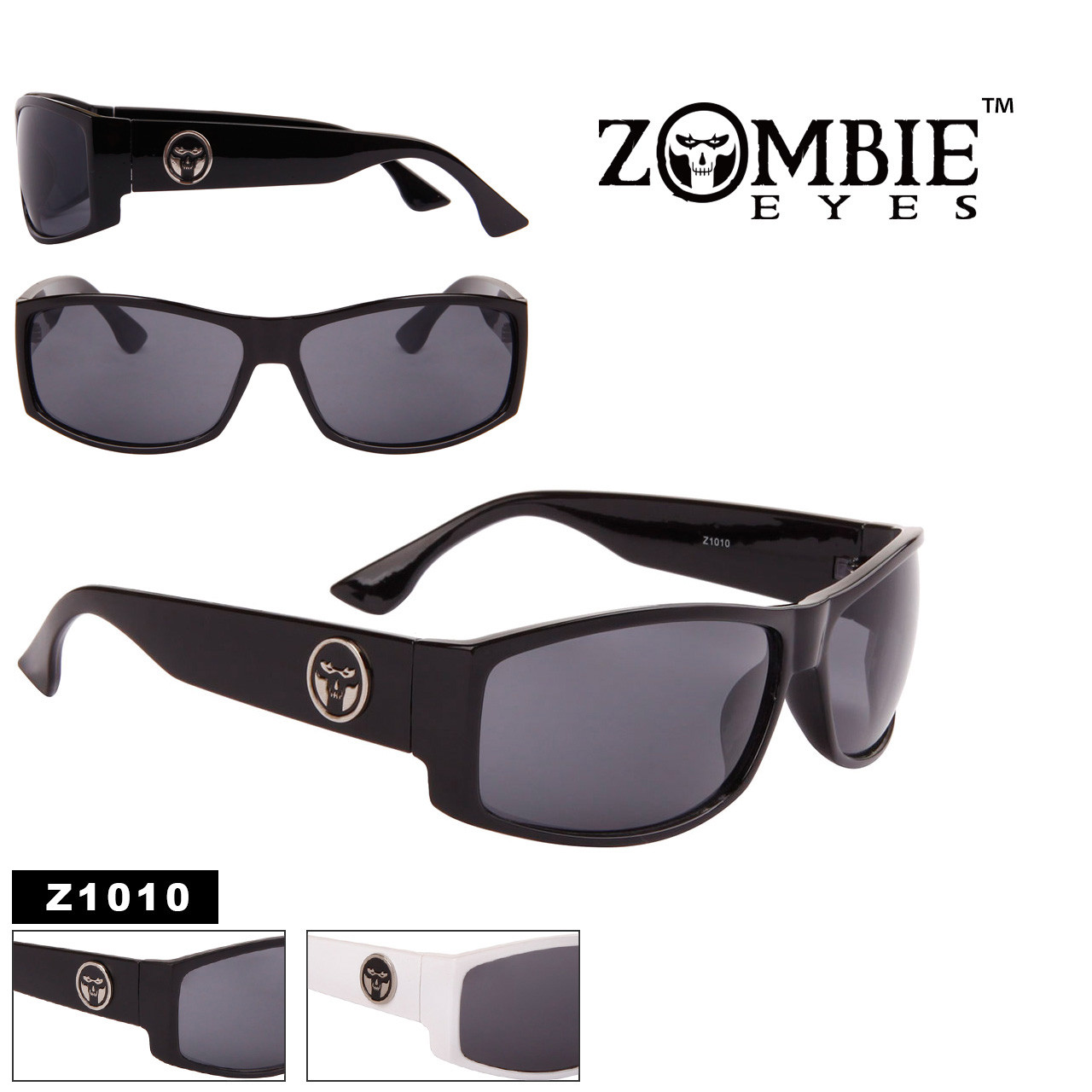 3508934af9 Men s Designer Zombie Eyes™ Sunglasses Wholesale - Style  Z1010