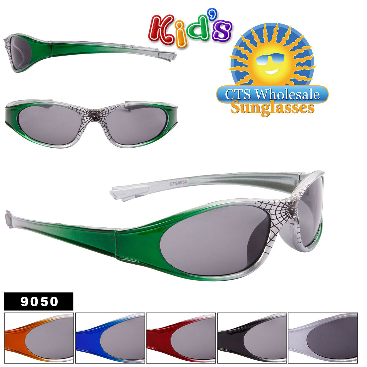 Spider Web Bulk Sunglasses For Kids