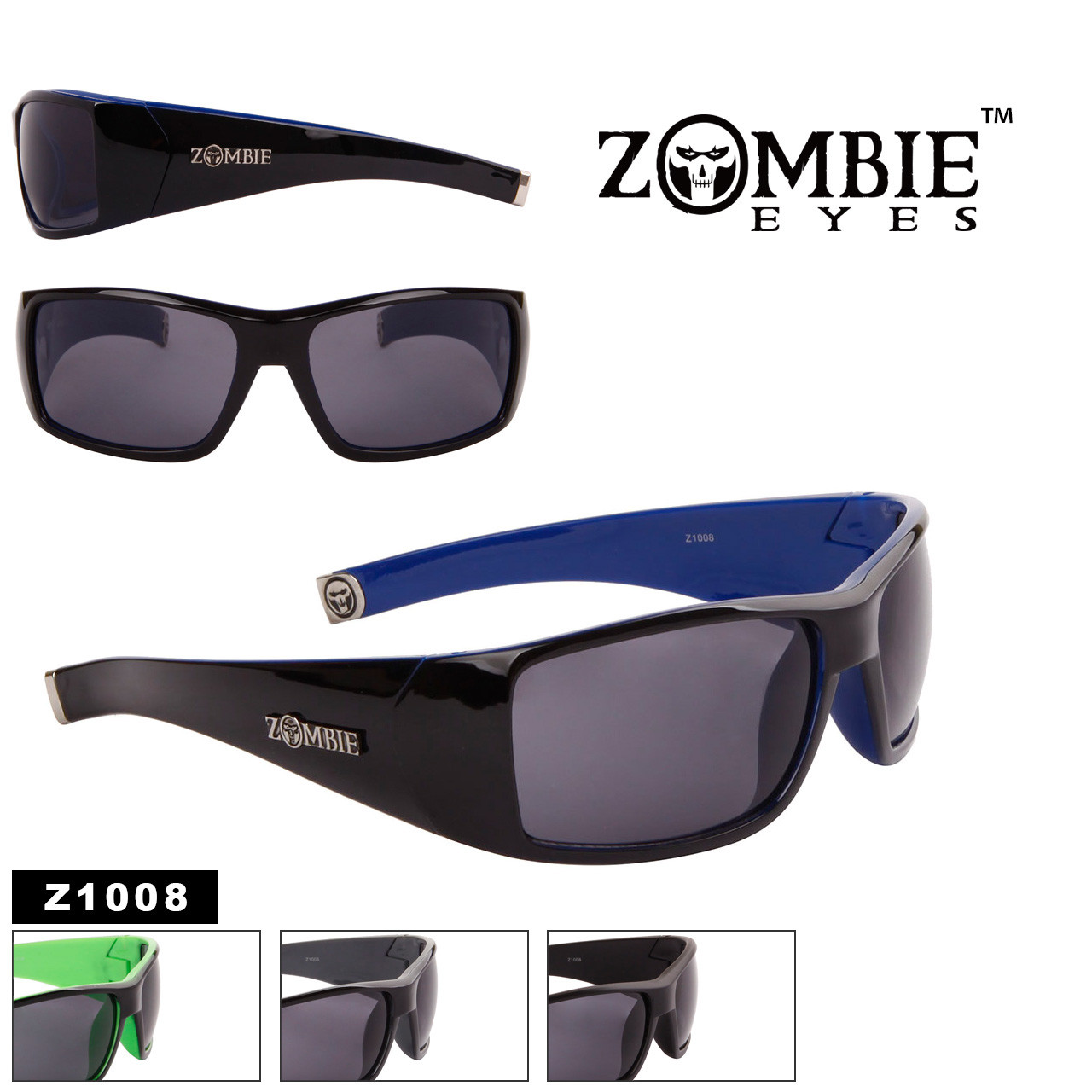 Zombie Eyes™ Men's Designer Sunglasses - Style #Z1008