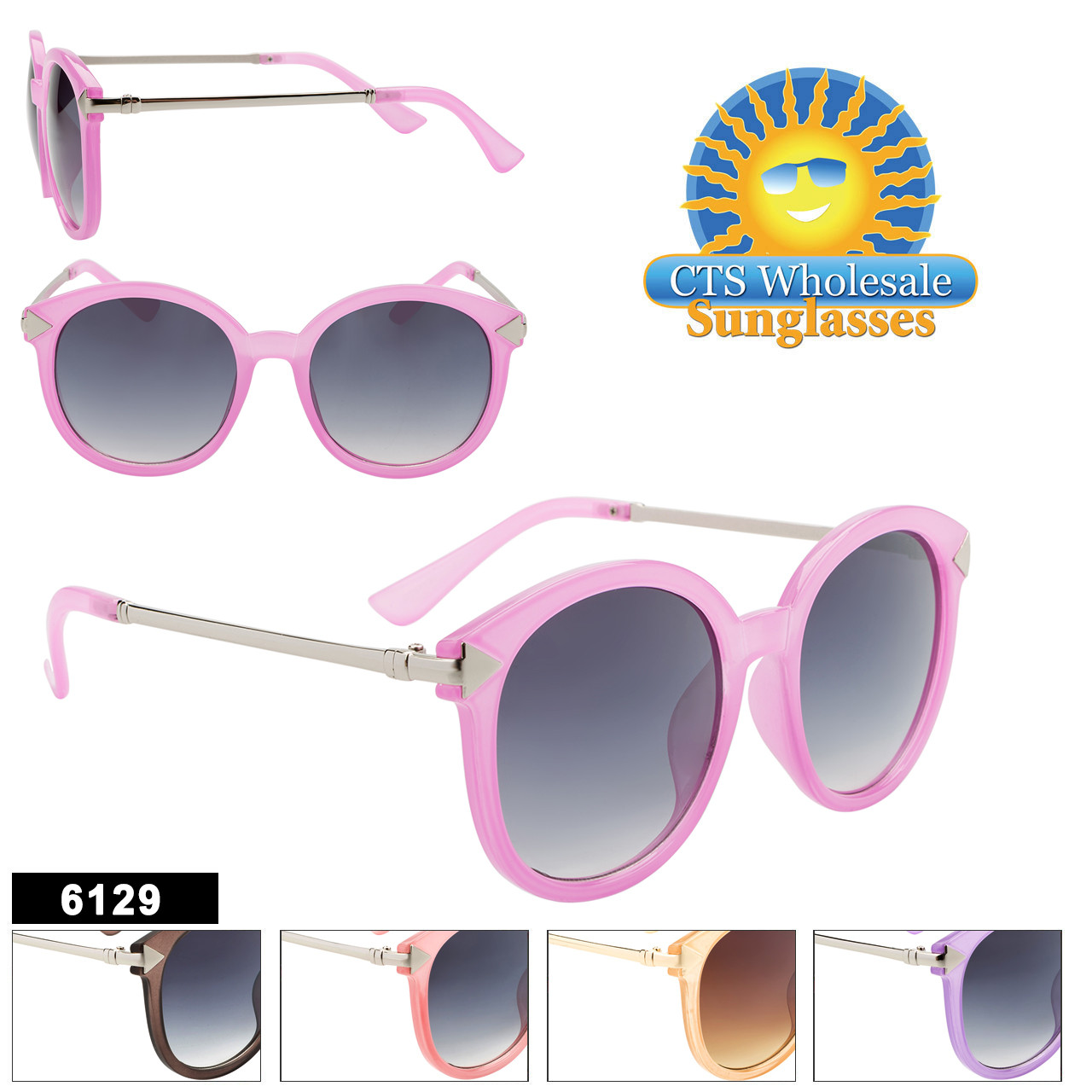 Women's Fashion Sunglasses- Style #6129
