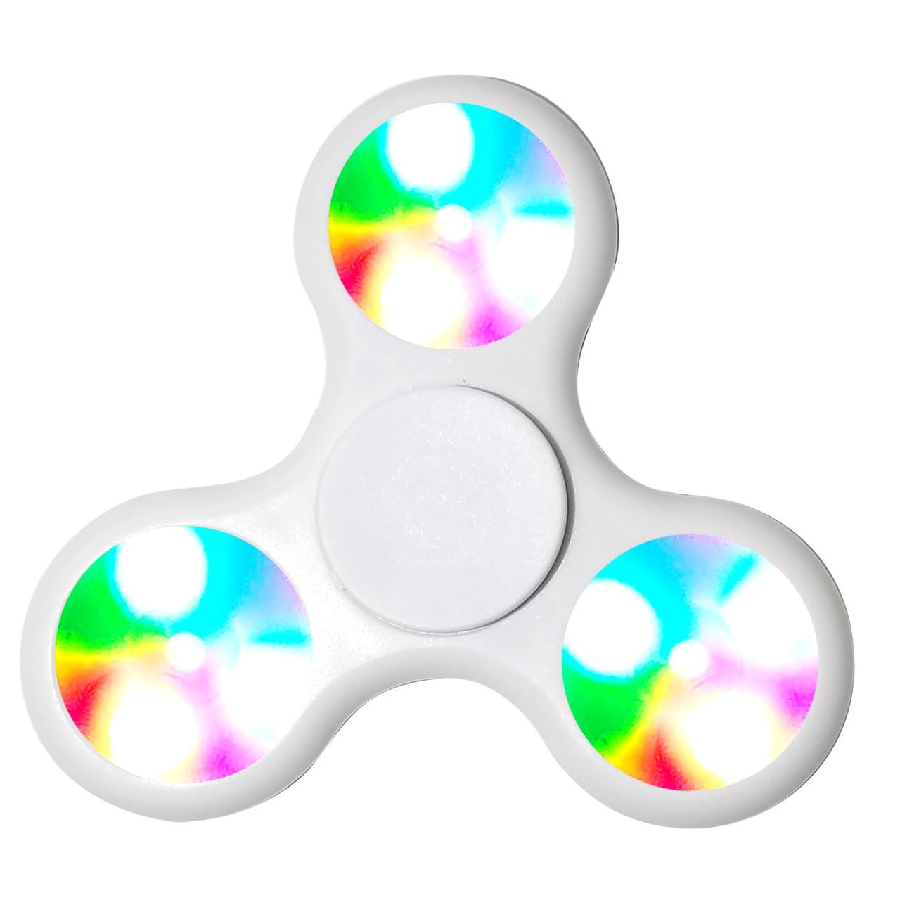 White LED Spinners!