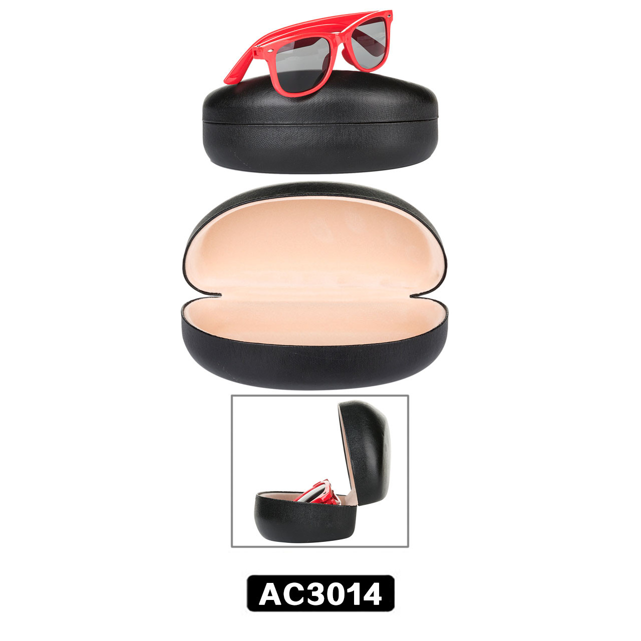 Black Sunglasses Case AC3014