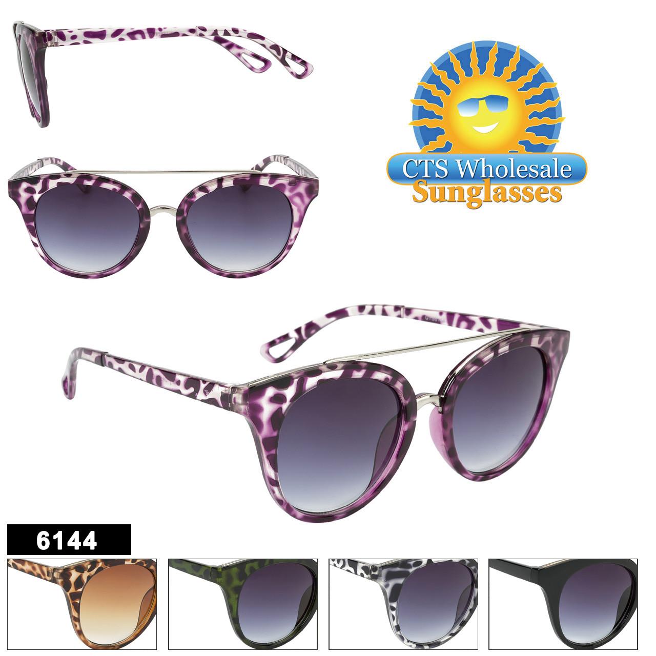 Wholesale Retro Cat-Eye Sunglasses - Style #6144