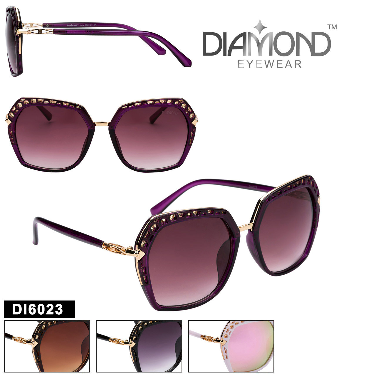 Diamond™ Eyewear Fashion Sunglasses - DI6023